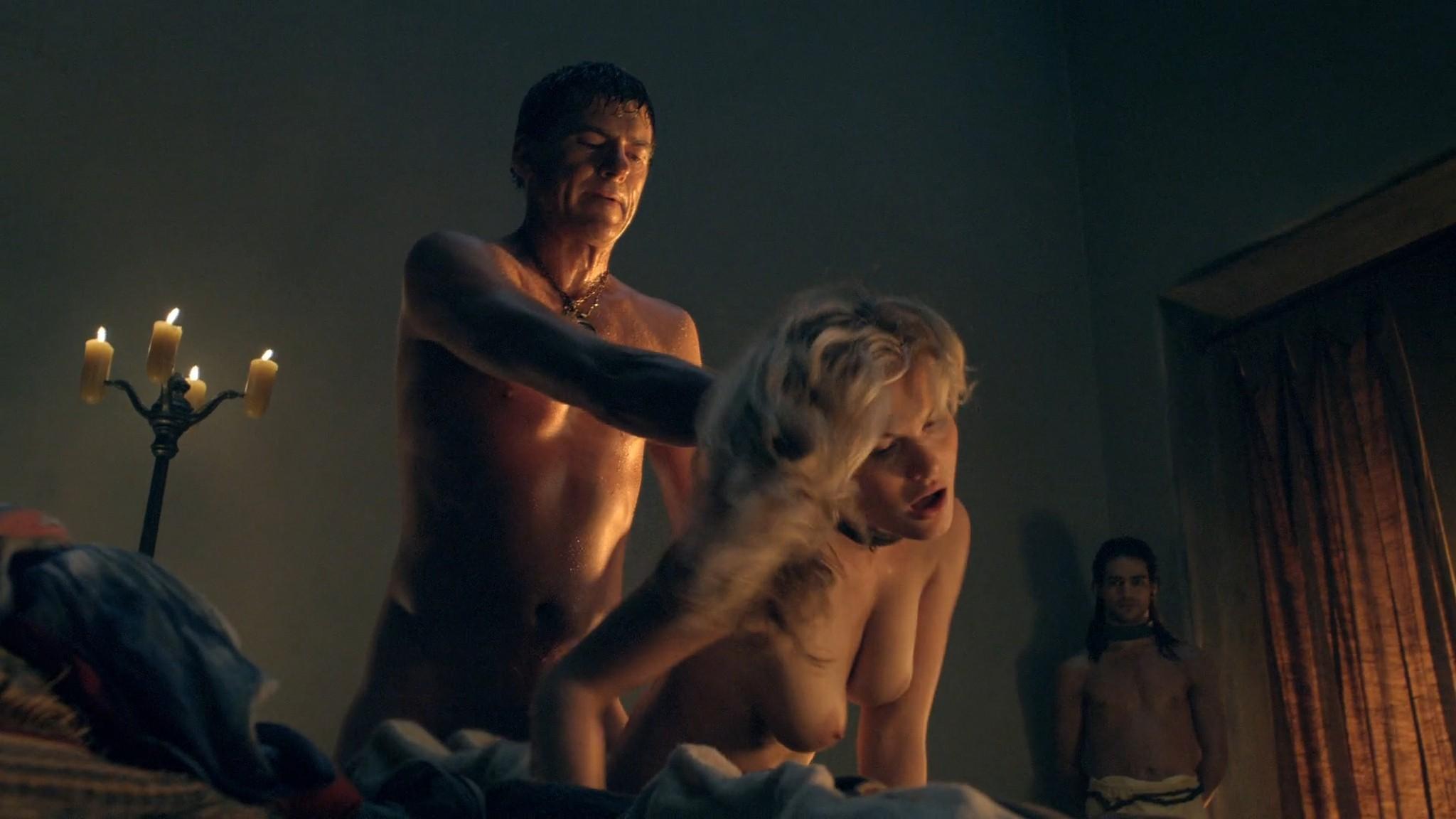 Viva Bianca nude Katrina Law, Bonnie Sveen all nude -Spartacus - Vengeance (2012) e2 1080p (13)