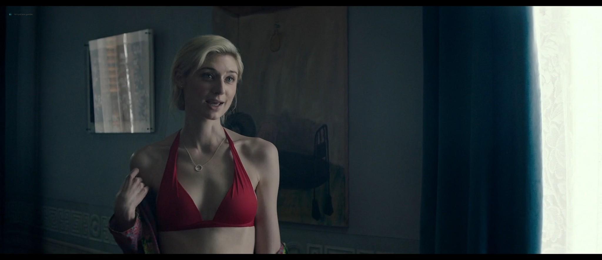 Elizabeth Debicki nude topless and sex -The Burnt Orange