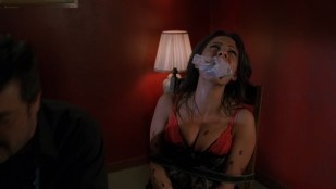 Michele Hicks nude lesbian with Sarah Shahi and Ever Carradine hot - Guns for Hire (2015) HD 1080p