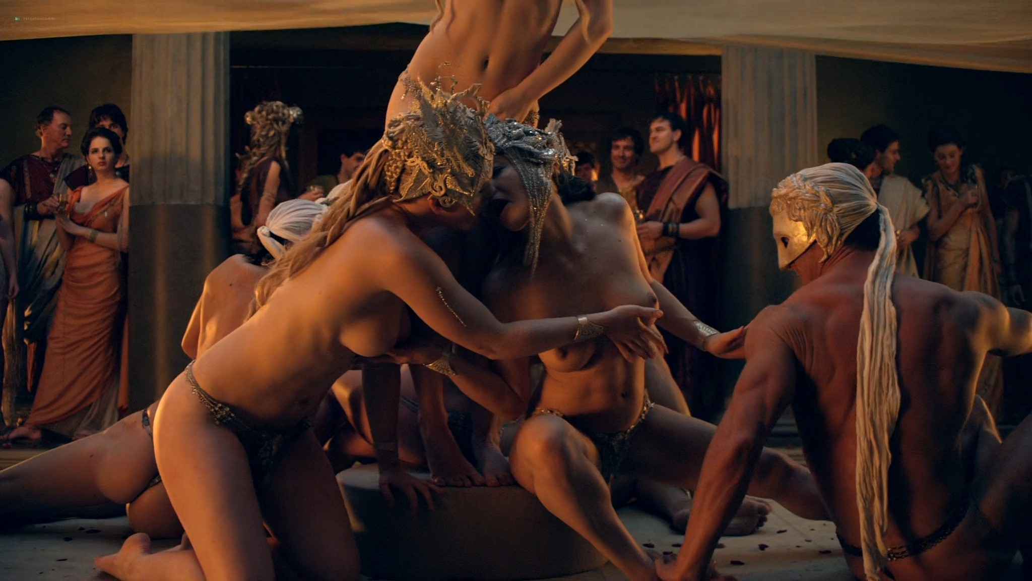 Viva Bianca nude Lucy Lawless nude sex others nude - Spartacus - Vengeance (2012) e4 1080p BluRay (10)