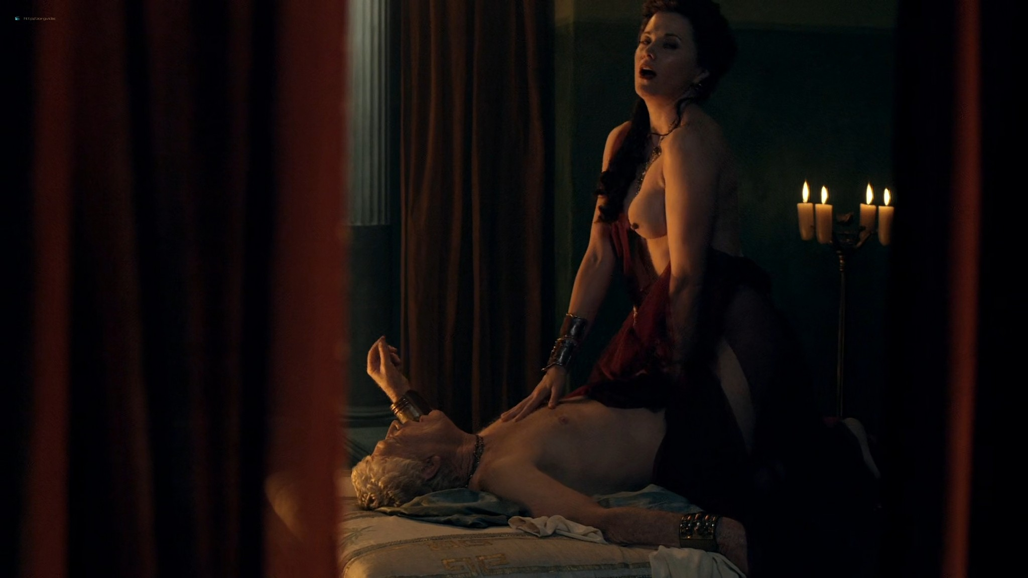 Viva Bianca nude Lucy Lawless nude sex others nude - Spartacus - Vengeance (2012) e4 1080p BluRay (2)