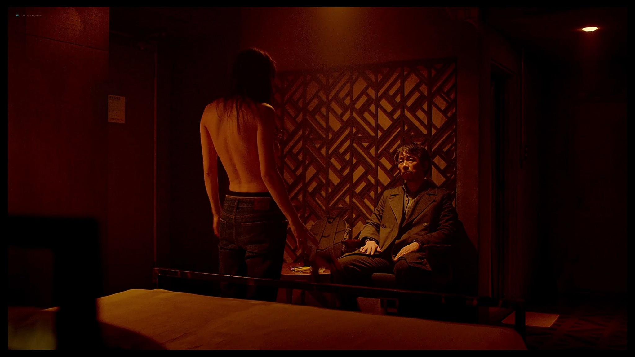 Alexandra Daddario nude butt and topless Lost Girls and Love Hotels 2020 HD 1080p Web 016