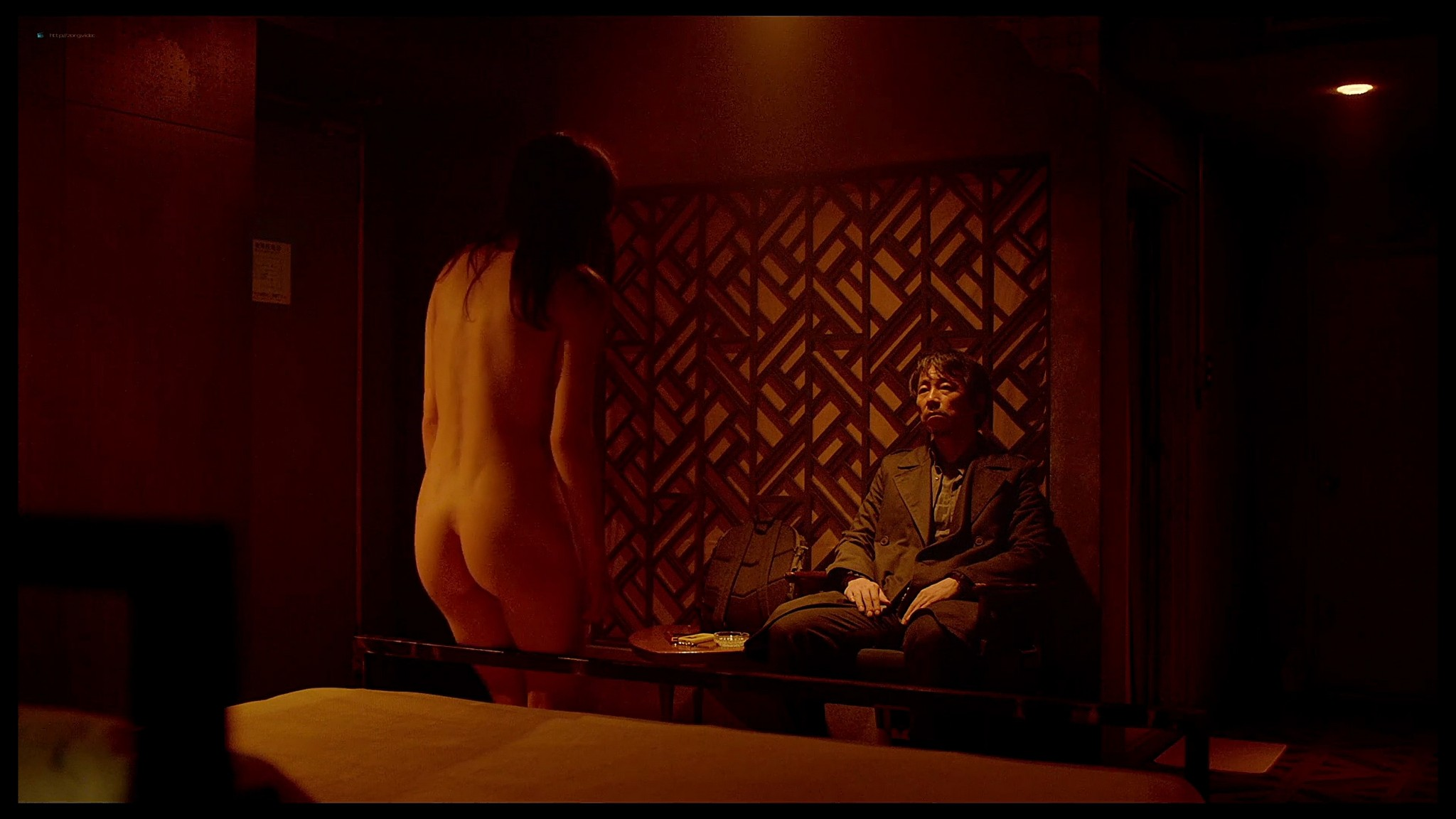 Alexandra Daddario nude butt and topless Lost Girls and Love Hotels 2020 HD 1080p Web 018