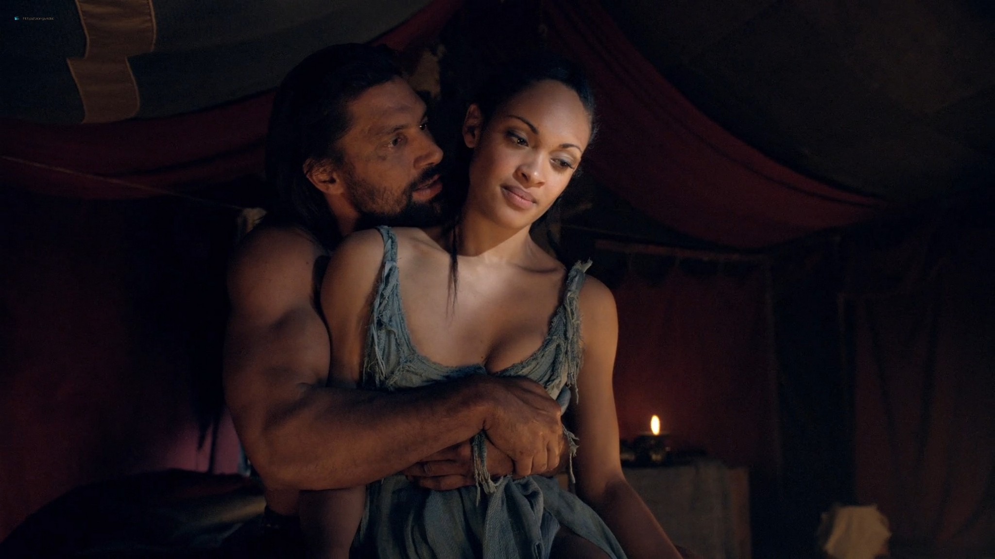 Ellen Hollman nude sex Jenna Lind Cynthia Addai Robinson and other nude Spartacus 2013 HD 1080p BluRay 011