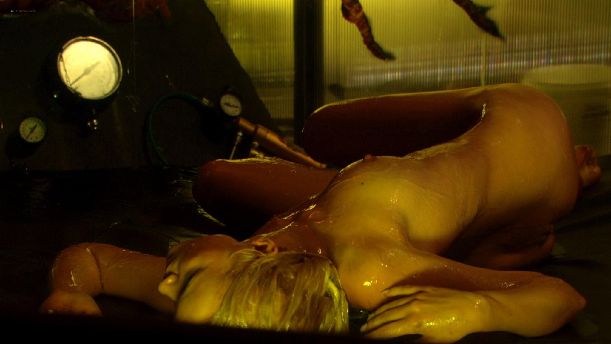 Helena Mattsson nude full frontal and Marlene Favela nude Species The Awakening 2007 HD 1080p BluRay REMUX 005