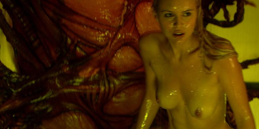 Helena Mattsson nude full frontal and Marlene Favela nude Species The Awakening 2007 HD 1080p BluRay REMUX 008