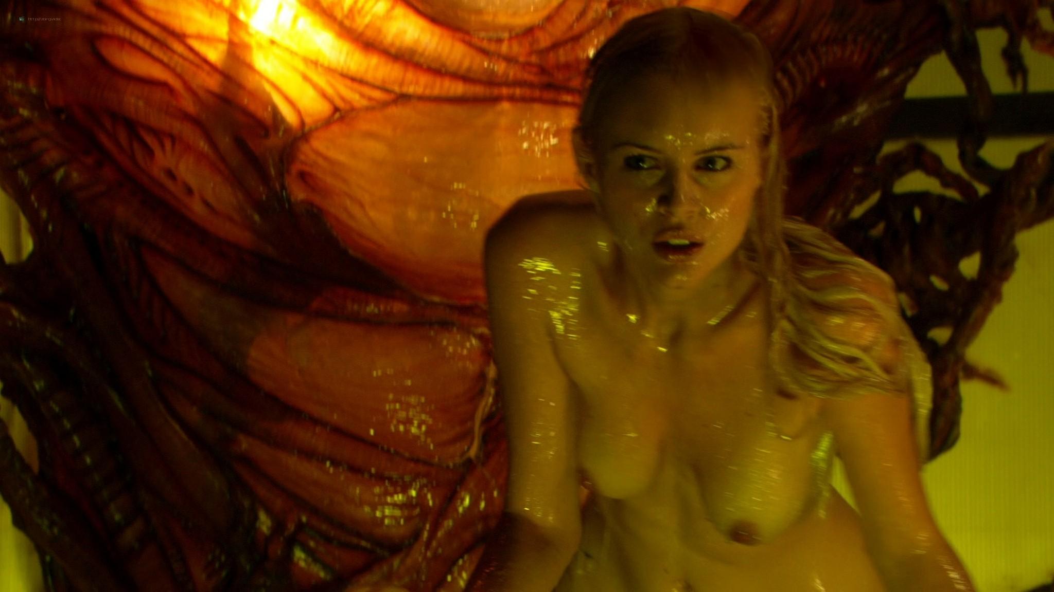 Helena Mattsson nude full frontal and Marlene Favela nude Species The Awakening 2007 HD 1080p BluRay REMUX 009