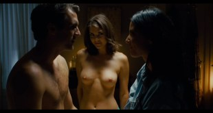Olivia Munn hot sexy Nikki Moore and Helena Mattsson nude topless The Babymakers 2012 HD 1080p BluRay 015