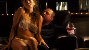 Penélope Cruz hot sexy and Sonia Doubell briefly topless as lap dancer - The Good Night (2007) HD 1080p