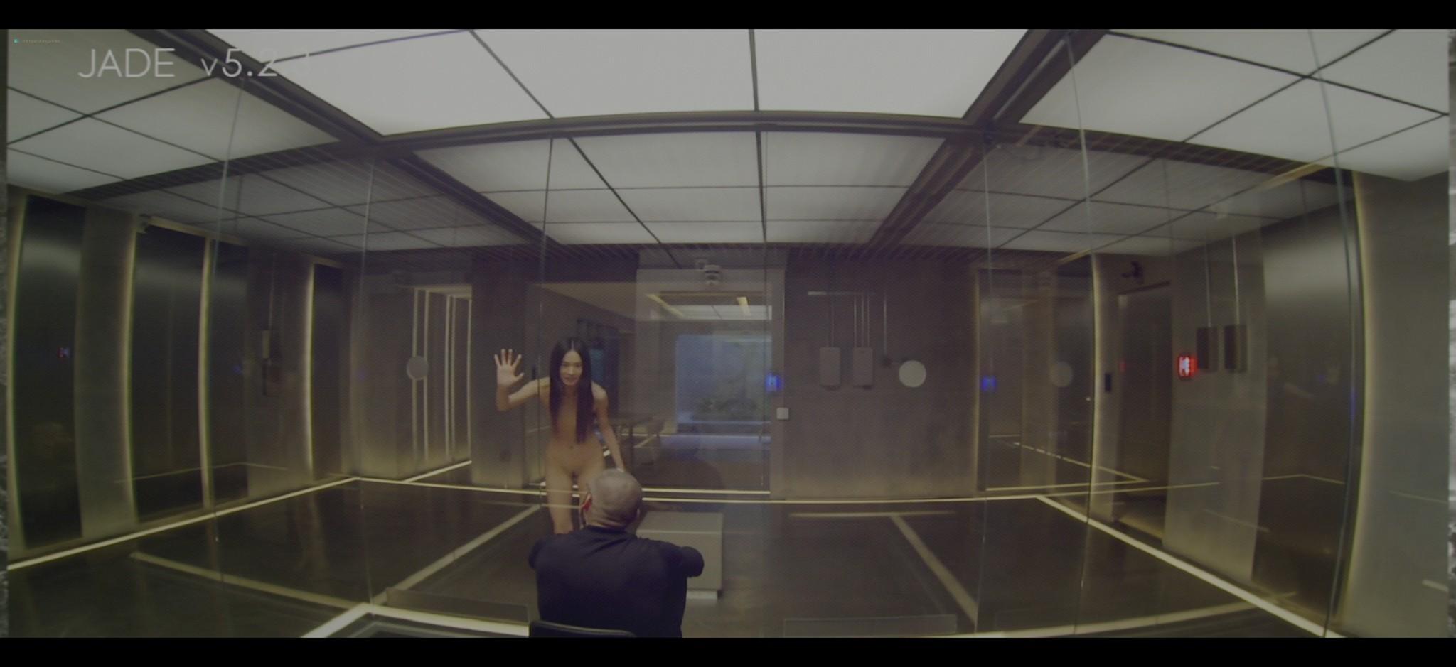 Alicia Vikander nude full frontal Sonoya Mizuno nude bush and others nude Ex Machina 2015 UHD 2160 1080p 007