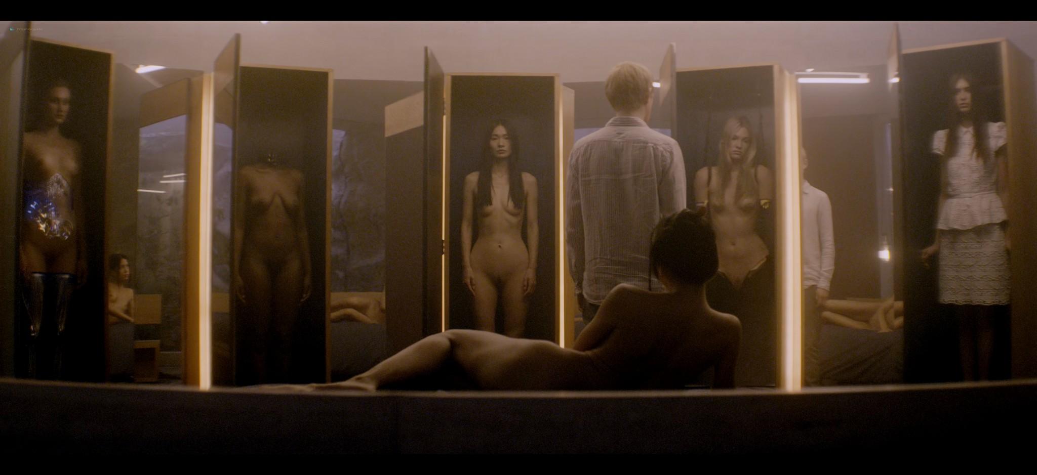 Alicia Vikander nude full frontal Sonoya Mizuno nude bush and others nude Ex Machina 2015 UHD 2160 1080p 010
