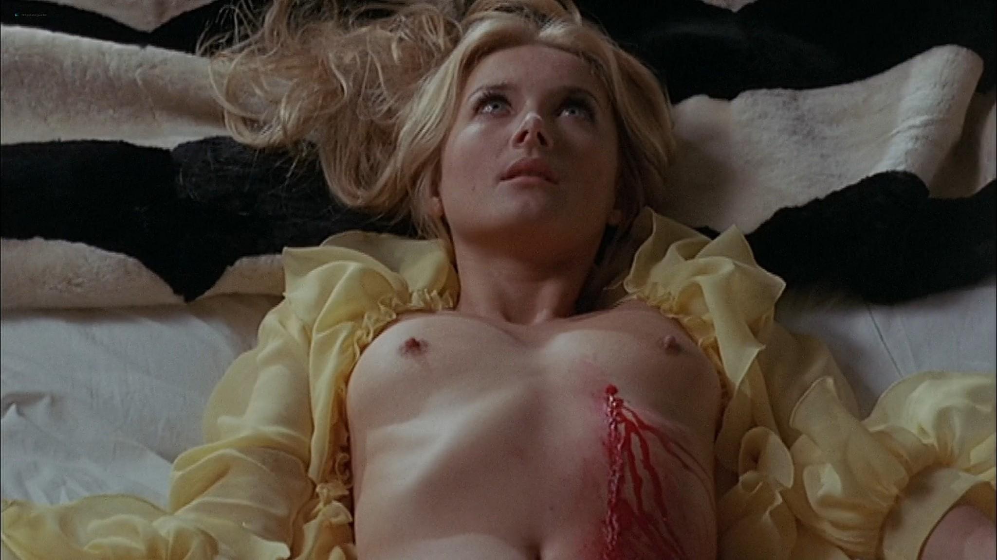Barbara Bouchet nude topless Stefania Sandrelli nude sex Black Belly of the Tarantula 1972 HD 1080p BluRay 008