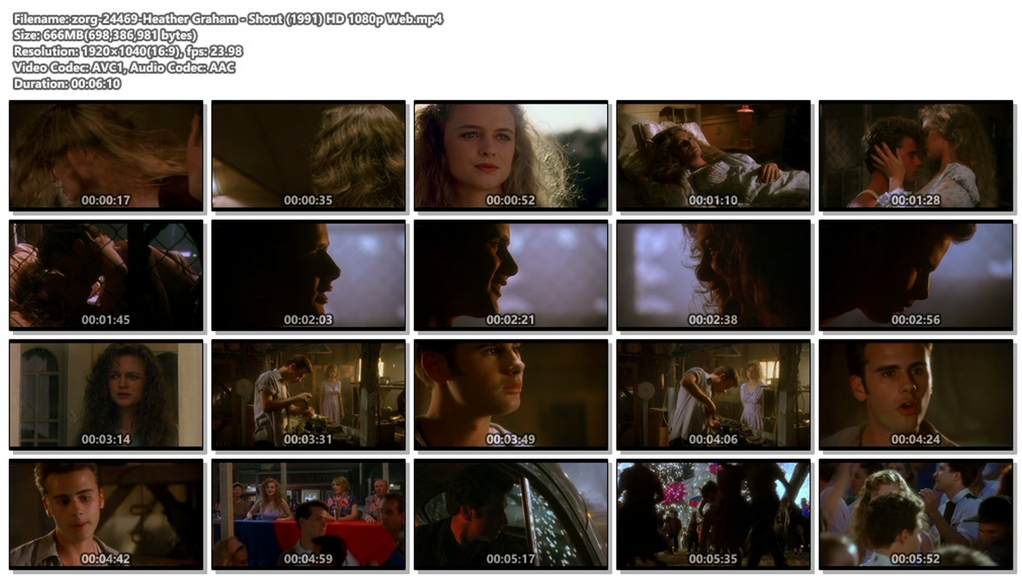 Heather Graham cute and sexy Shout 1991 HD 1080p Web 013