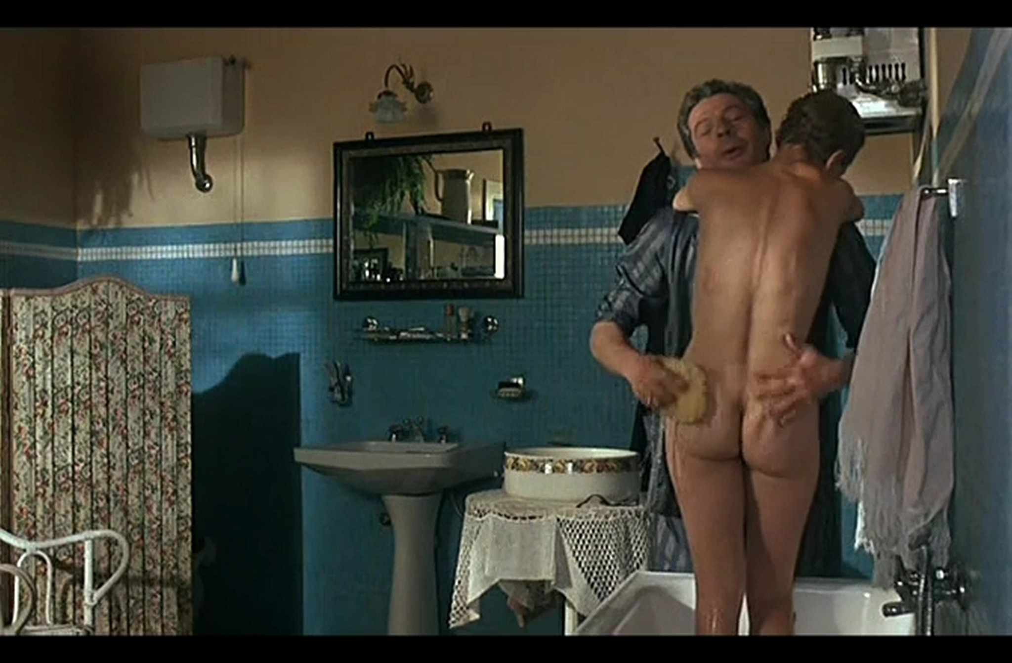 Isabelle Huppert nude full frontal and Hanna Schygulla nude bush Storia di Piera IT 1983 DvDrip 001