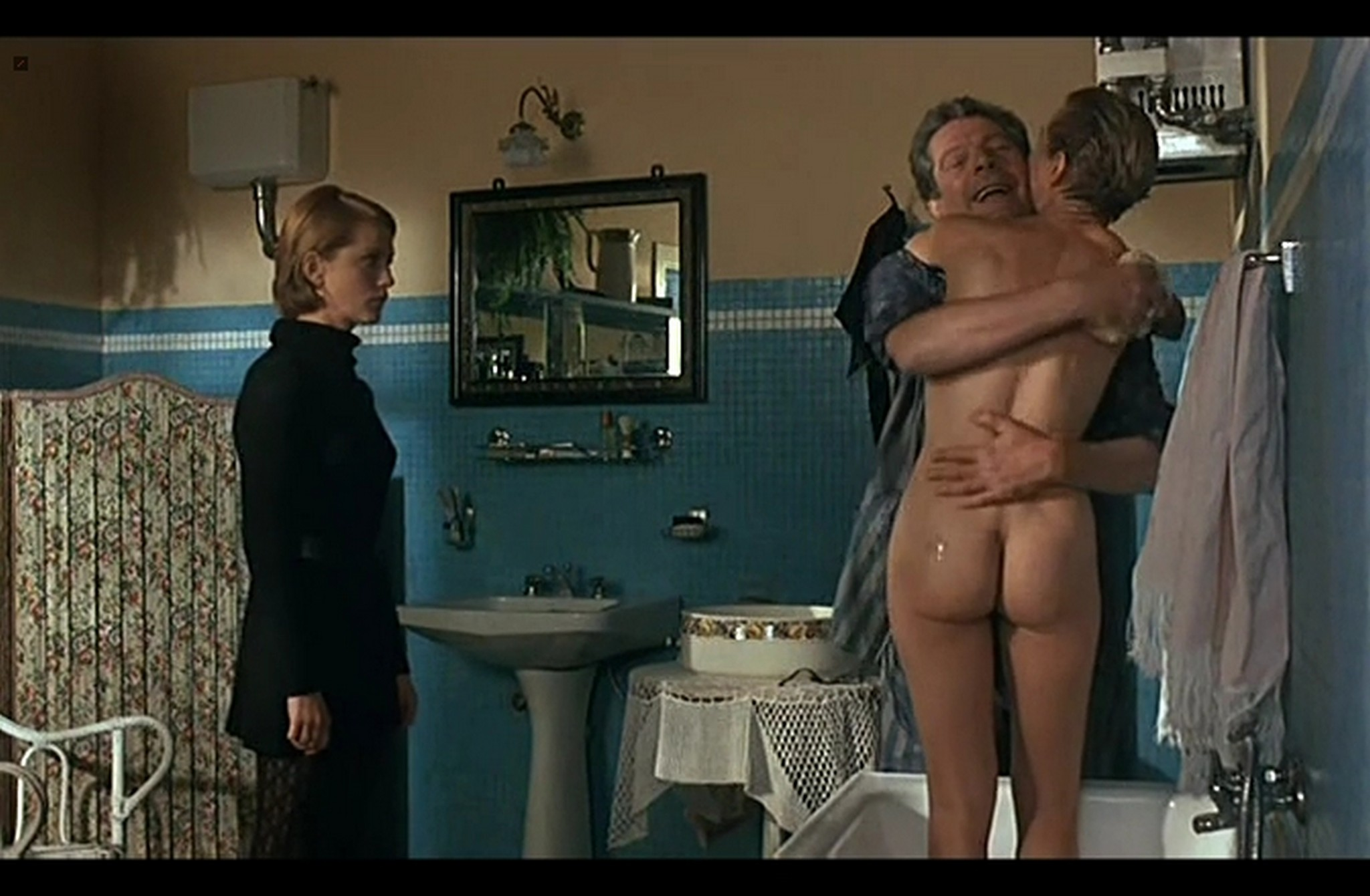 Isabelle Huppert nude full frontal and Hanna Schygulla nude bush Storia di Piera IT 1983 DvDrip 002