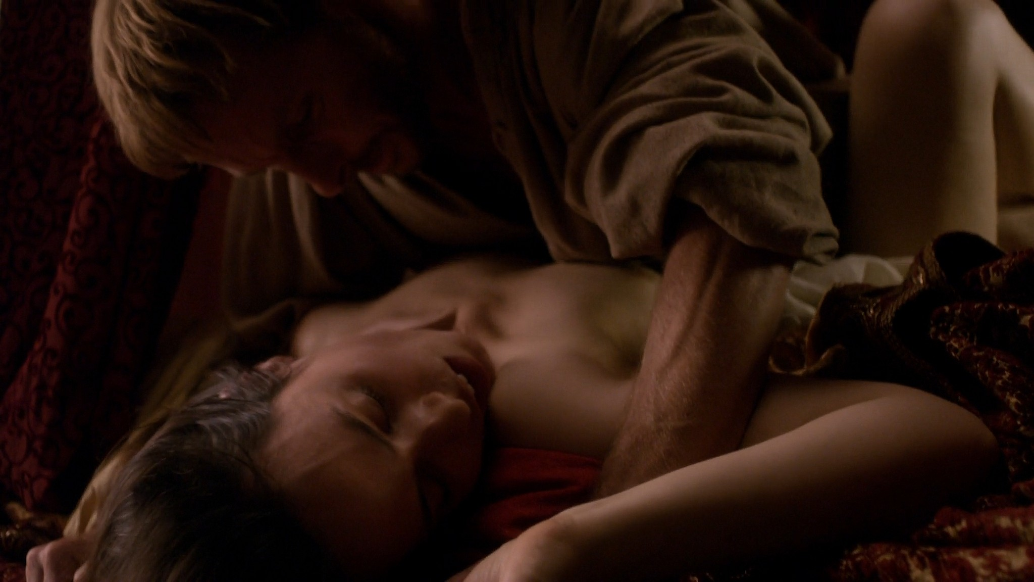 Lotte Verbeek nude Montserrat Lombard sex The Borgias 2011 s1e1 HD 1080p 005