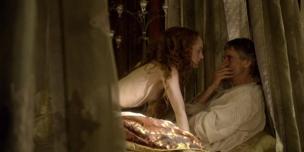 Lotte Verbeek nude Montserrat Lombard sex The Borgias 2011 s1e1 HD 1080p 007