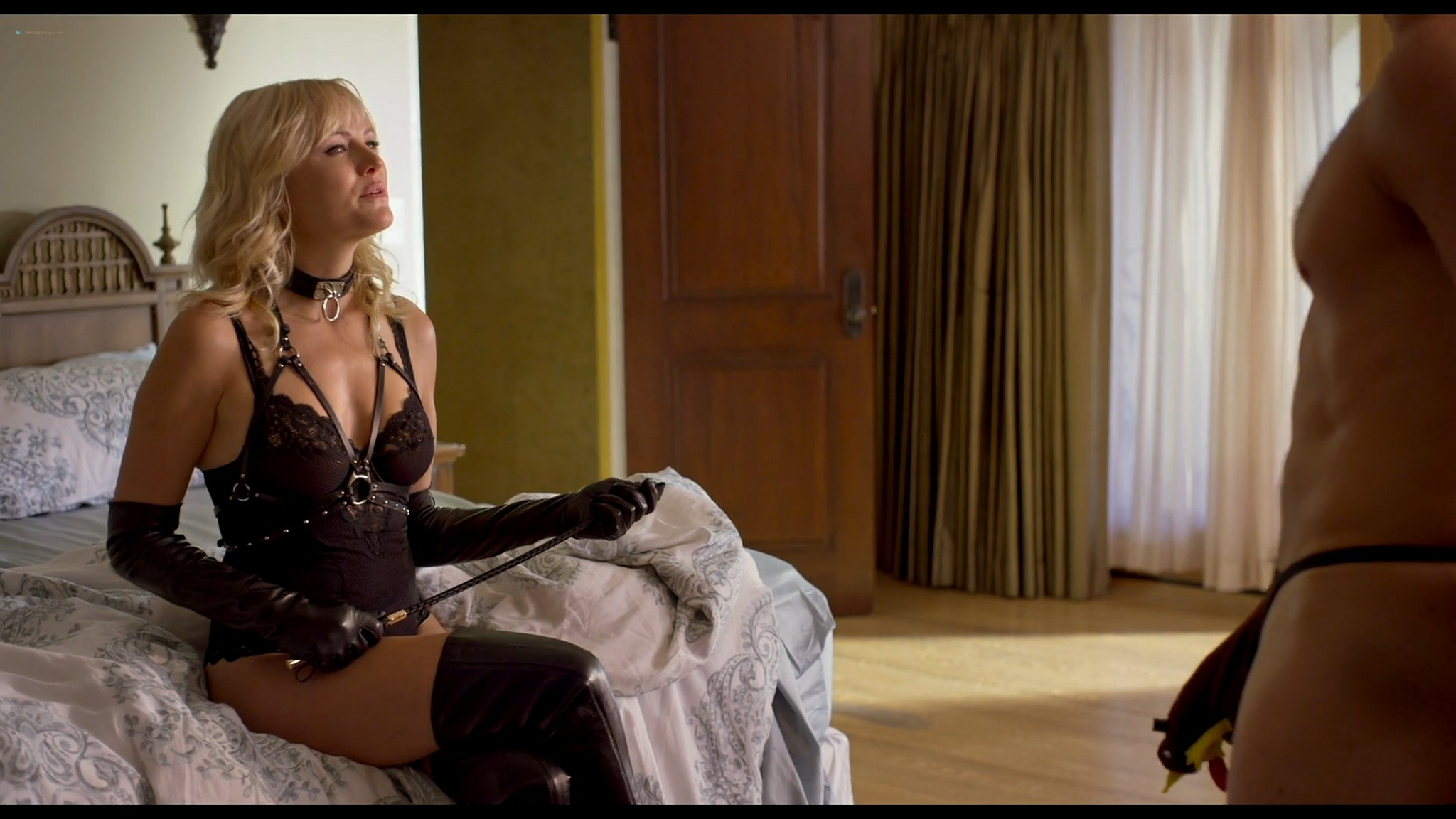 Malin Akerman hot and sexy Friendsgiving 2020 HD 1080p BluRay 001