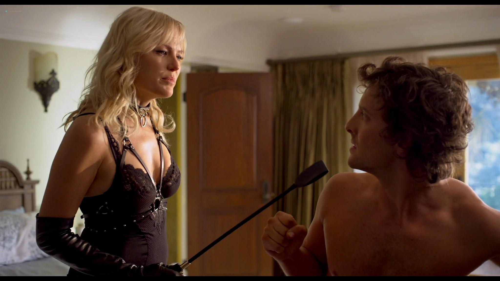 Malin Akerman hot and sexy Friendsgiving 2020 HD 1080p BluRay 006
