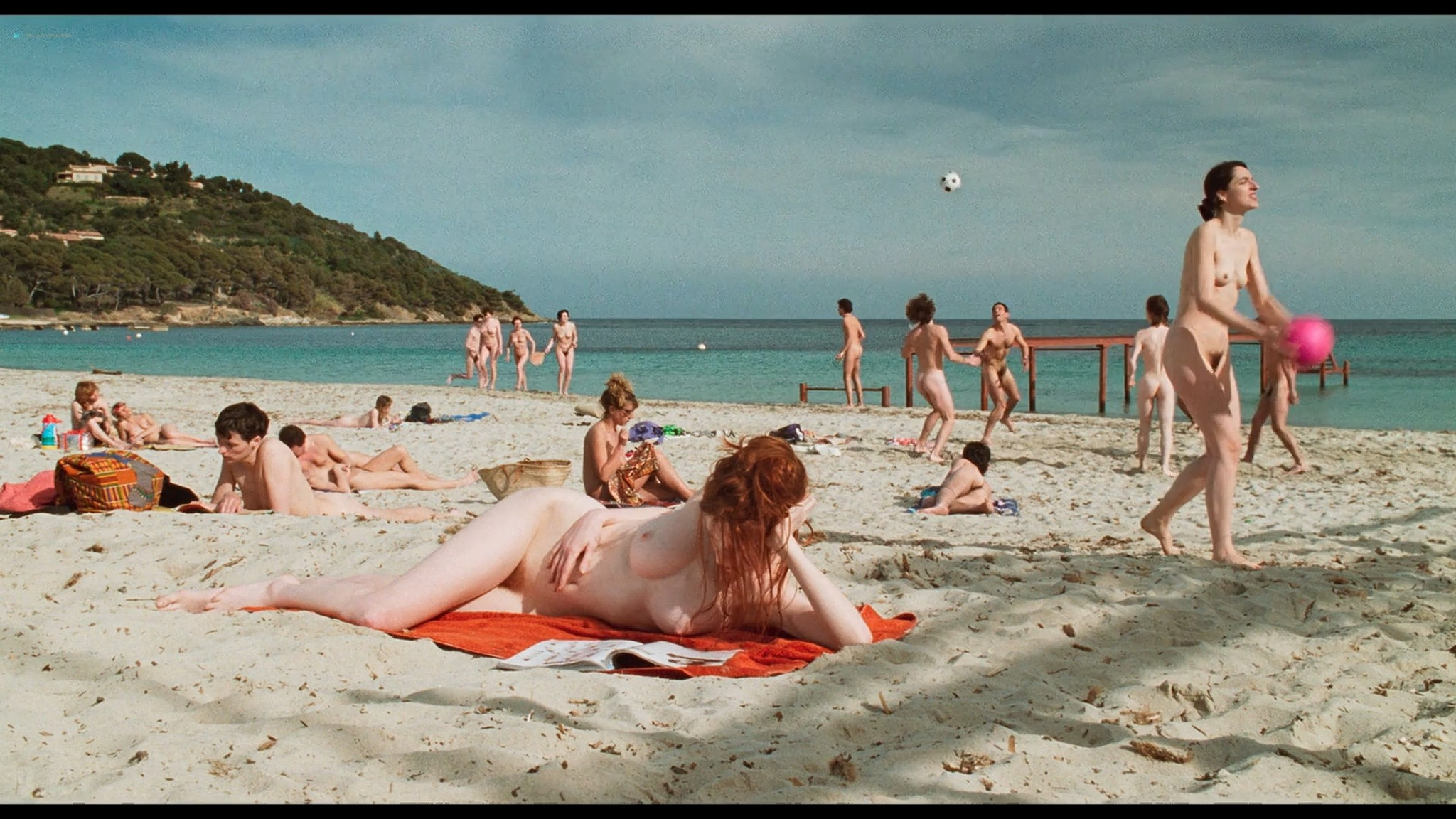 Marie Riva nude full frontal Aurelie Guichard nude Riens du tout FR 1992 HD 1080p BluRay 001