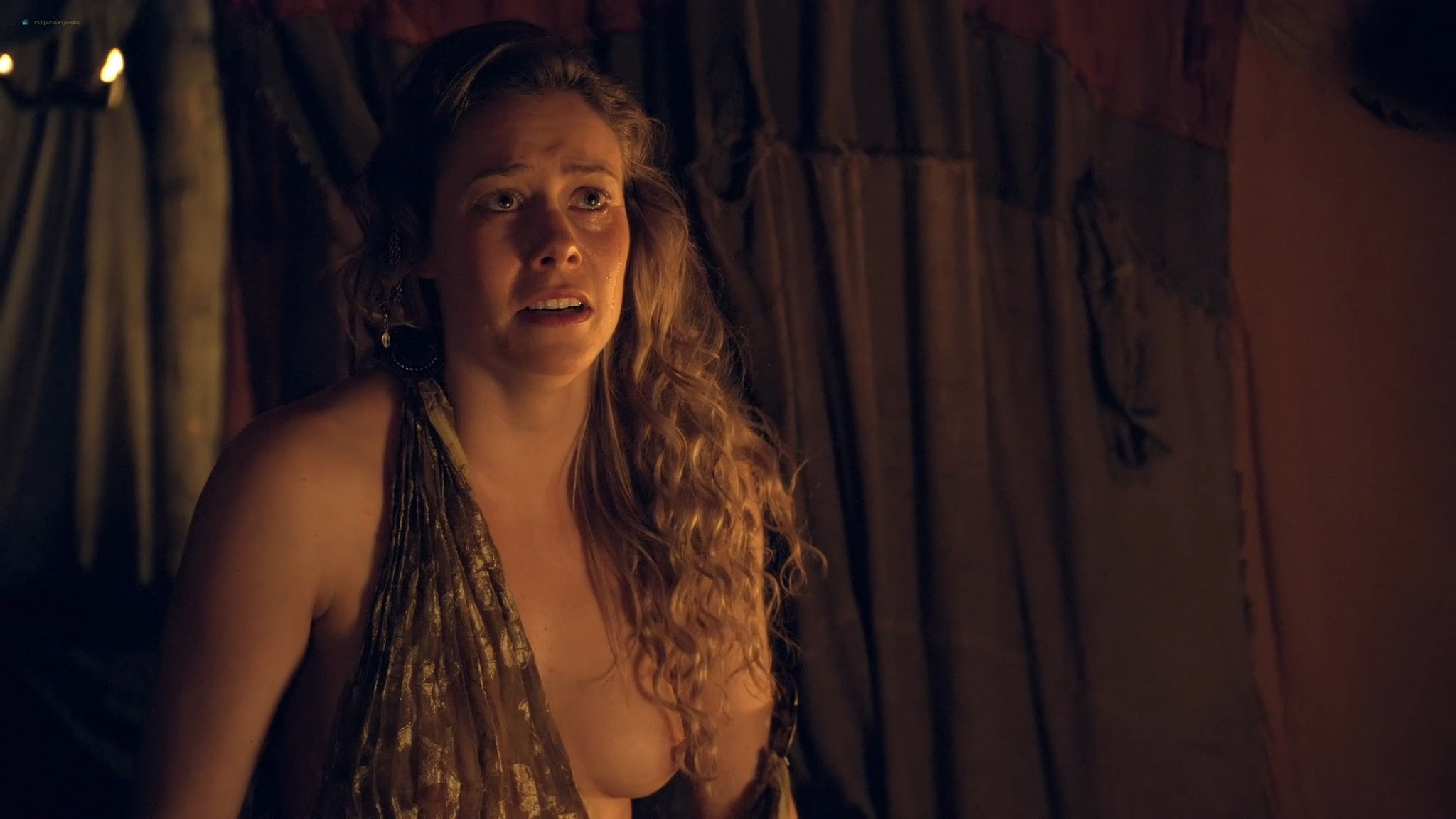T Ann Robson nude full frontal Gwendoline Taylor nude too Spartacus 2013 s3e9 10 1080p BluRay 001