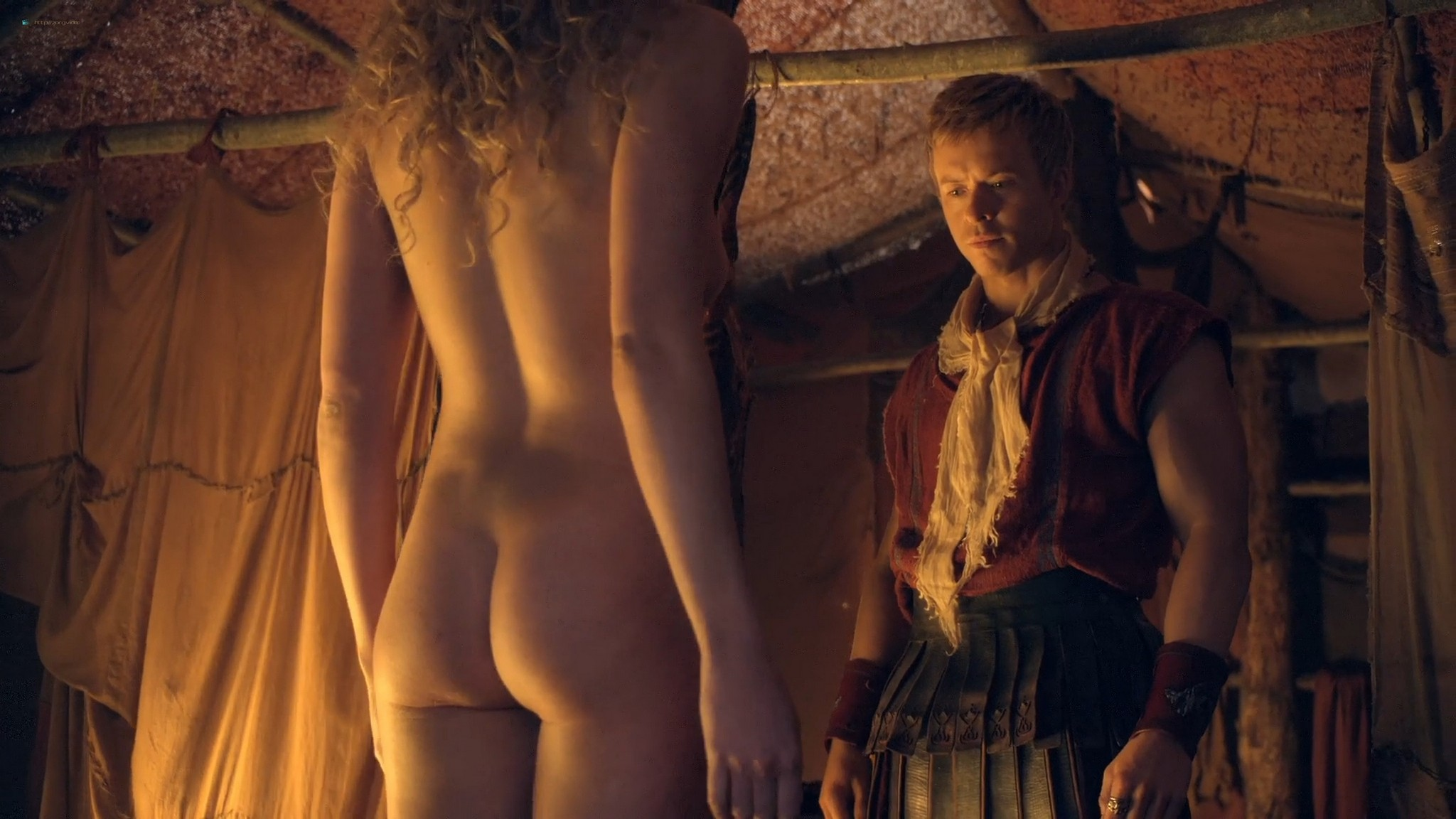 T Ann Robson nude full frontal Gwendoline Taylor nude too Spartacus 2013 s3e9 10 1080p BluRay 003
