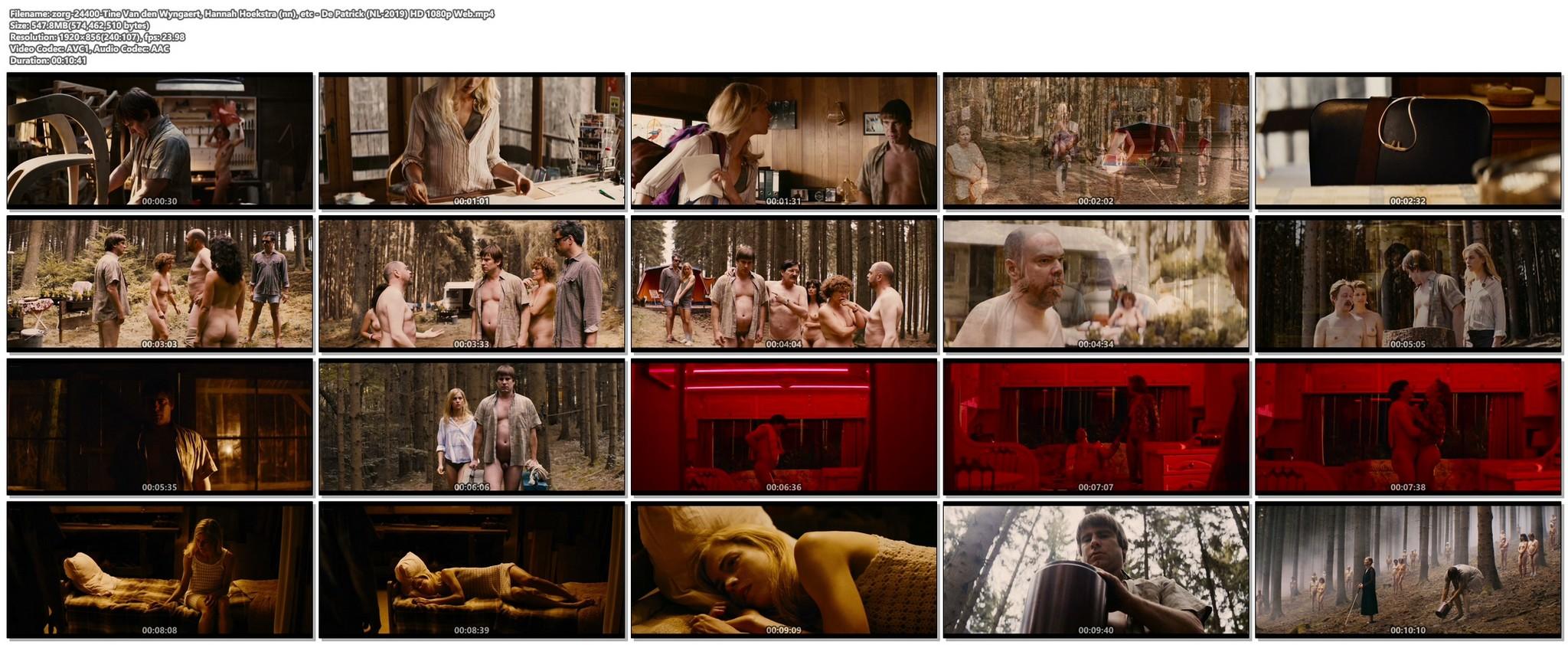 Tine Van den Wyngaert nude full frontal Hannah Hoekstra sexy other nude De Patrick NL 2019 HD 1080p Web 019