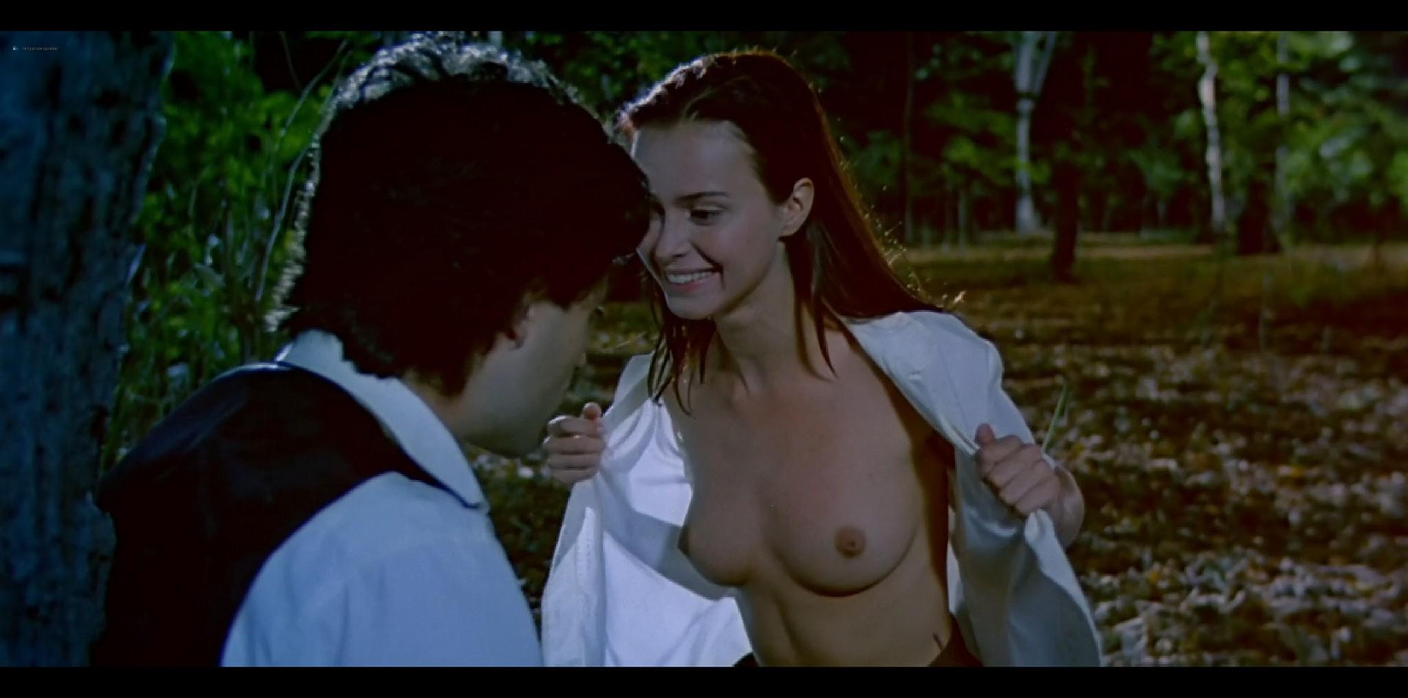 Agathe de La Fontaine nude bush another nude full frontal Train de vie FR 1998 HD 1080p BluRay 009