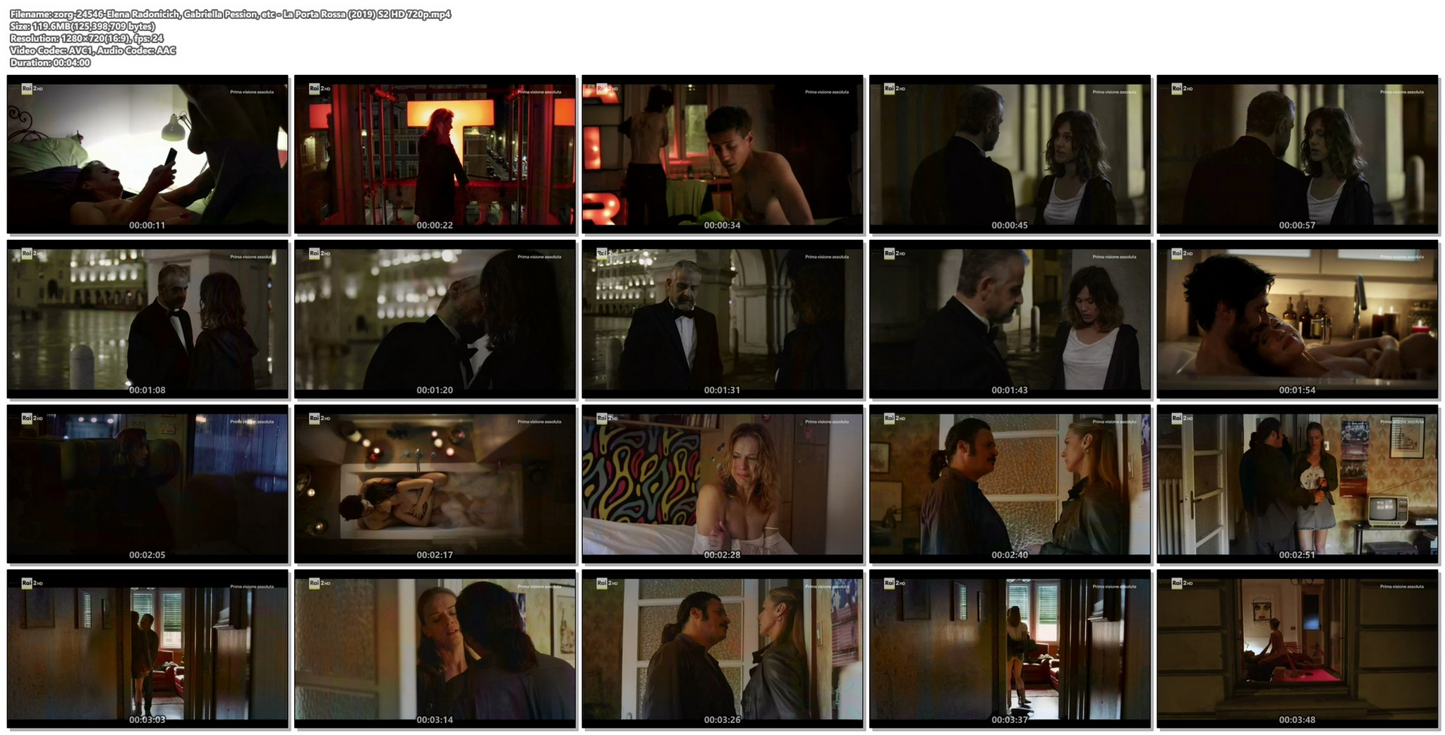 Elena Radonicich nude sex Gabriella Pession nude La Porta Rossa 2019 S2 HD 720p 014