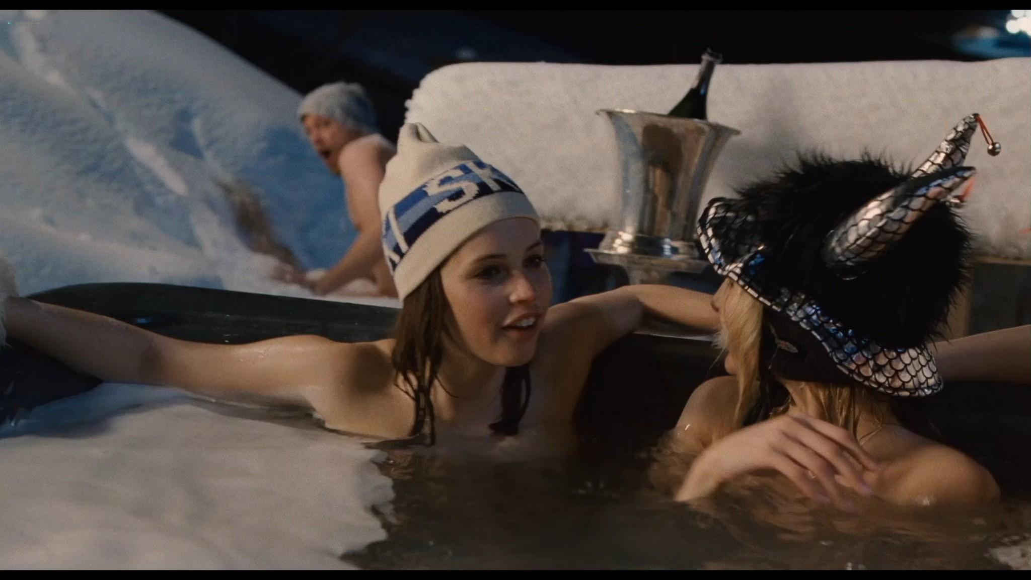 Felicity Jones nude covered Tamsin Egerton sexy Chalet Girl 2011 HD 1080p BluRay 007