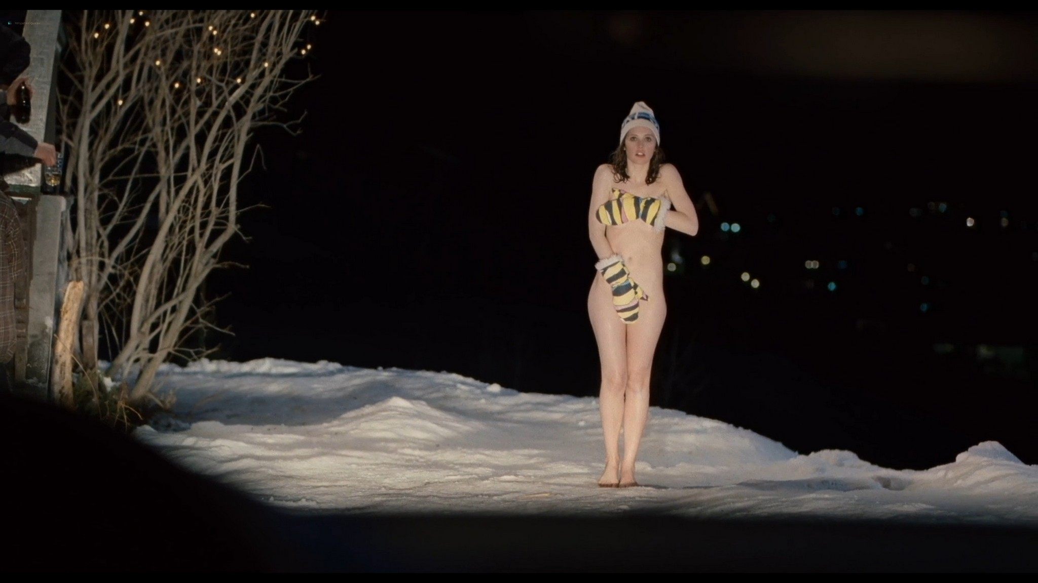 Felicity Jones nude covered Tamsin Egerton sexy Chalet Girl 2011 HD 1080p BluRay 010