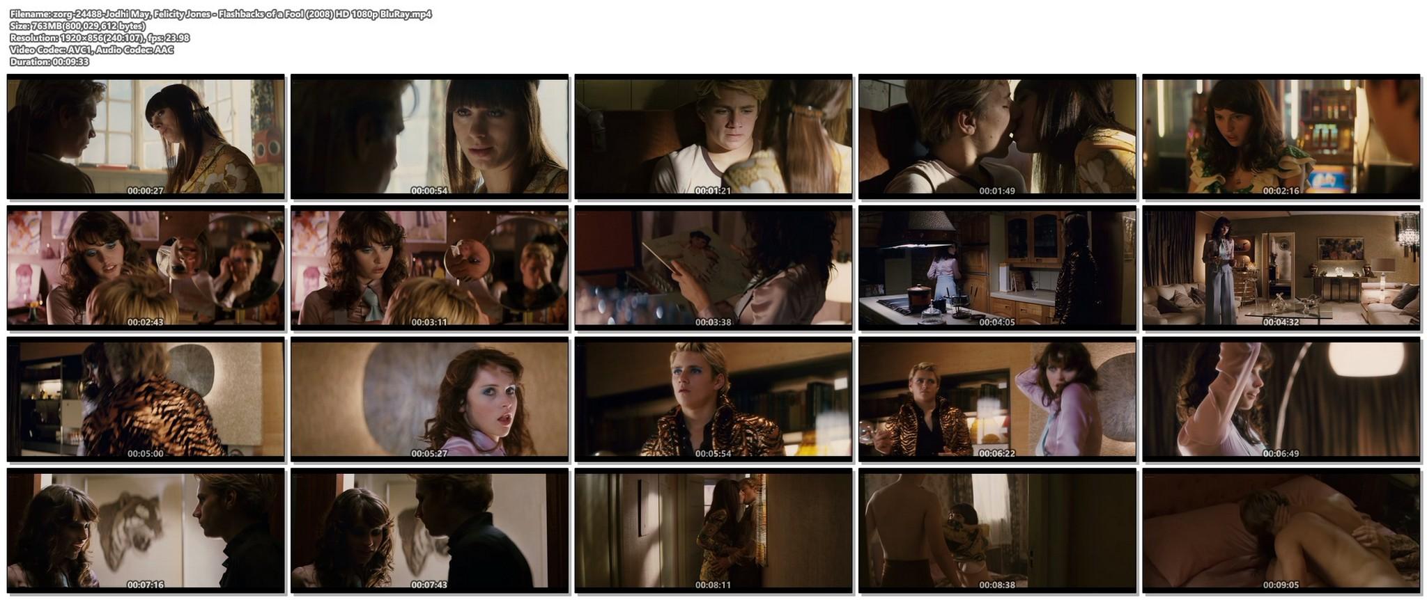 Jodhi May nude sex Felicity Jones sexy Flashbacks of a Fool 2008 HD 1080p BluRay 019