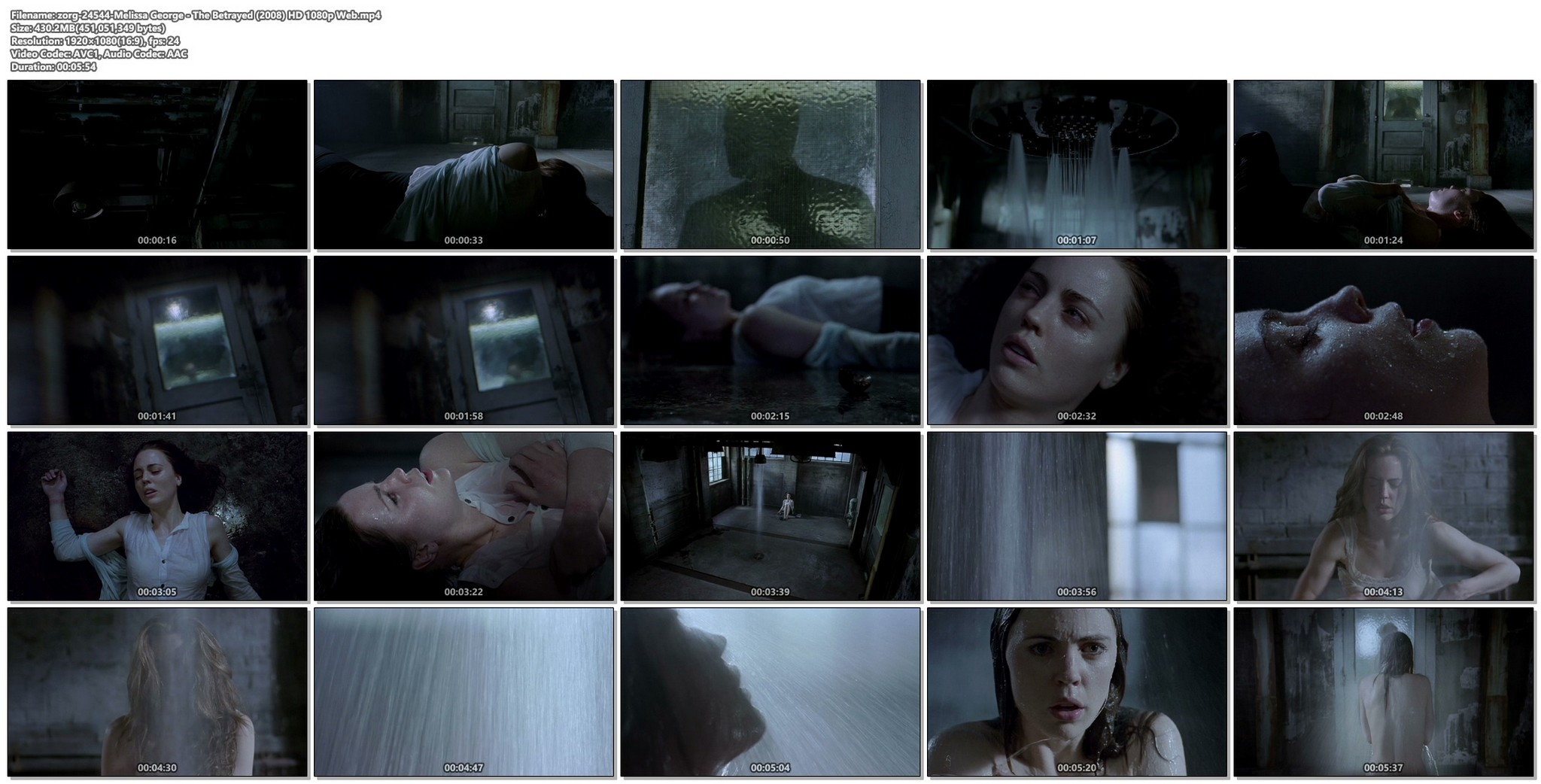 Melissa George hot and wet The Betrayed 2008 HD 1080p Web 012