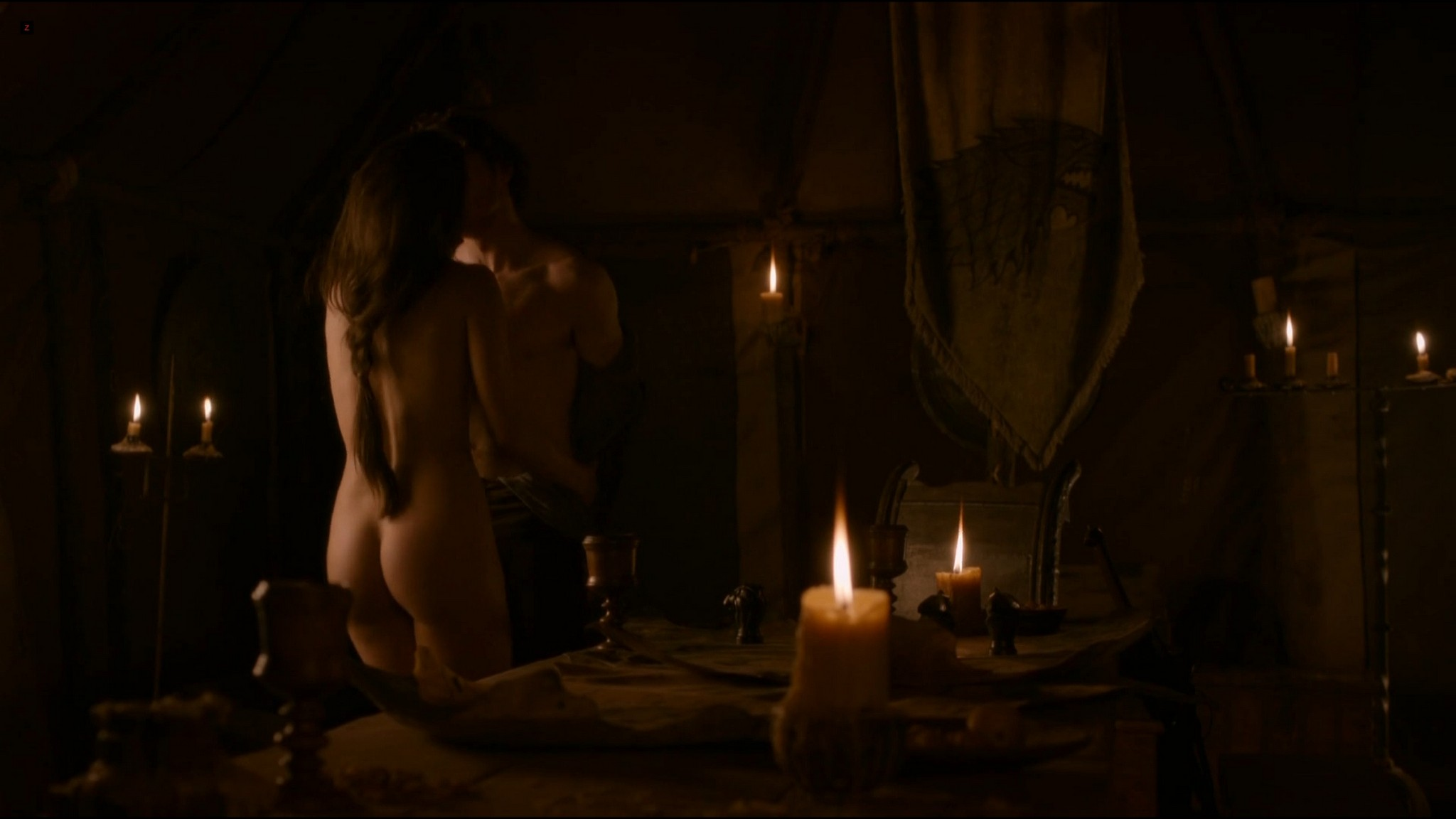 Oona Chaplin all naked and sex Game of Thrones 2012 s2e8 HD 1080p 007