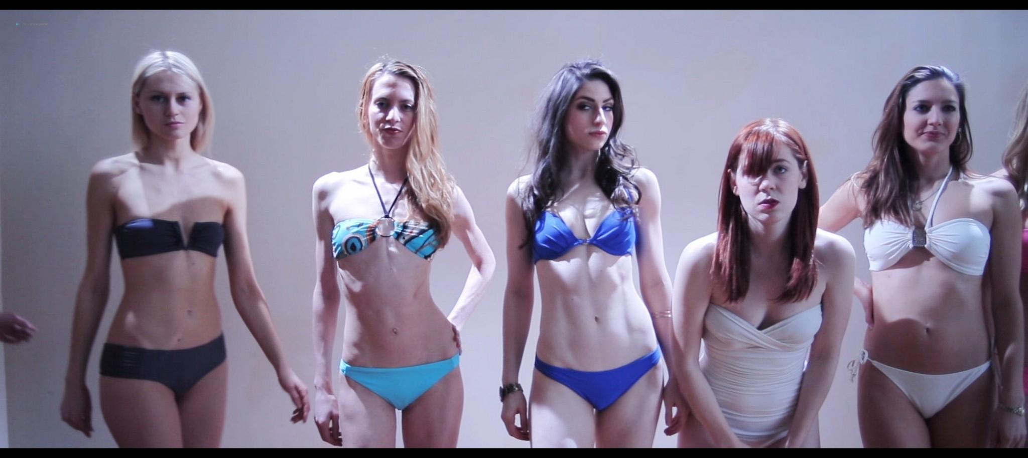 Sonja OHara nude full frontal Julie Hays Cat Yudain nude too Ovum 2015 HD 1080p Web 001