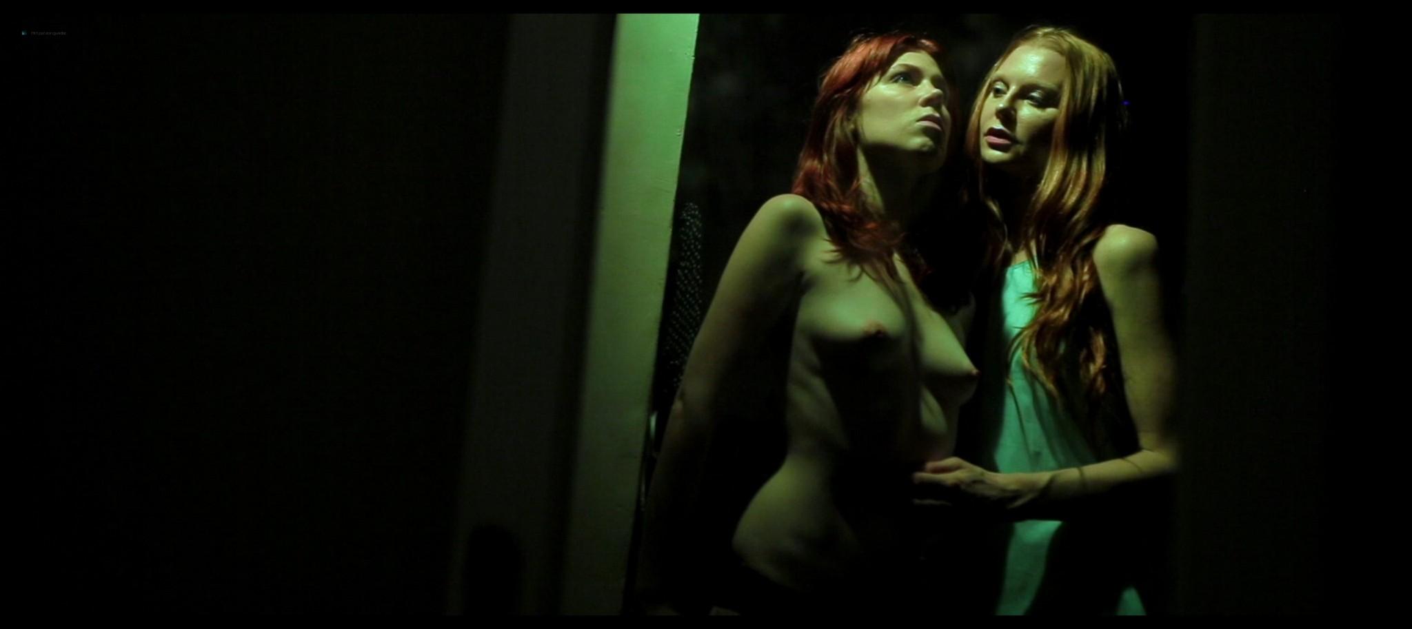 Sonja OHara nude full frontal Julie Hays Cat Yudain nude too Ovum 2015 HD 1080p Web 015