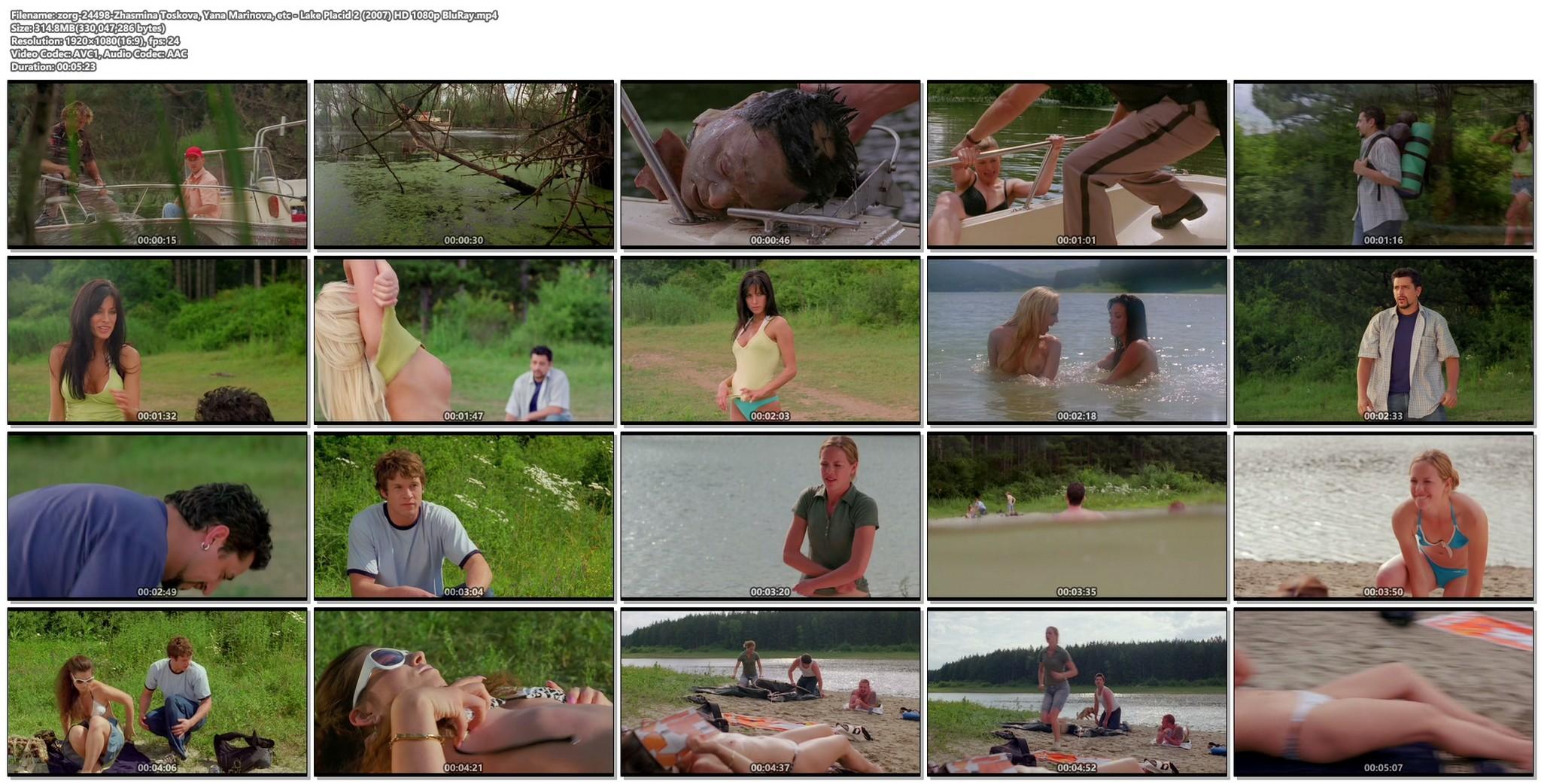 Zhasmina Toskova nude Yana Marinova nude topless Lake Placid 2 2007 HD 1080p BluRay 017