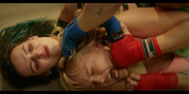 Bella Thorne vs Malin Akerman all sexy in Chick Fight 2020 1080p Bluray 12
