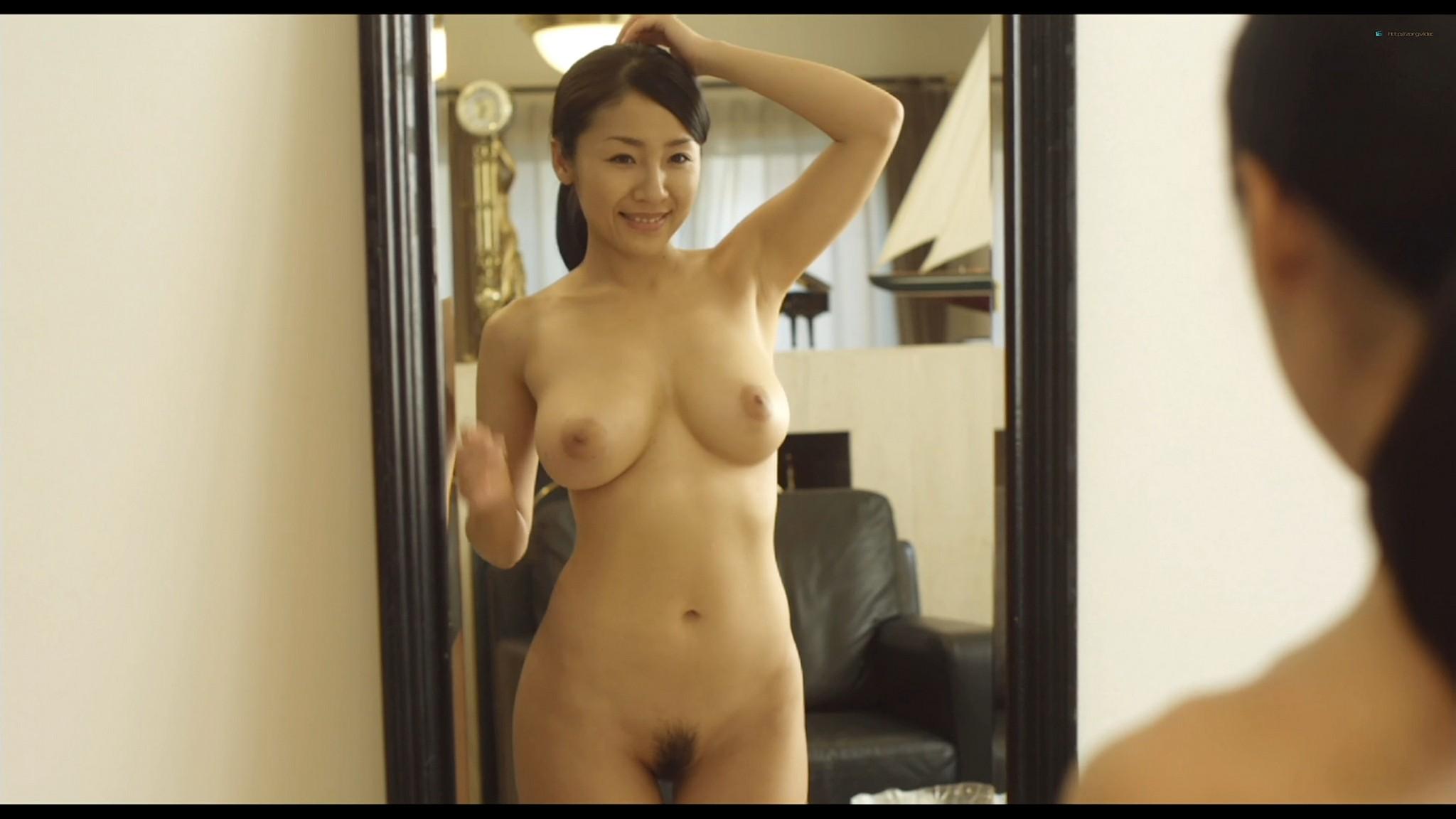 Megumi Kagurazaka nude full frontal Makoto Togashi nude too Guilty of Romance JP 2011 HD 1080p BluRay 02