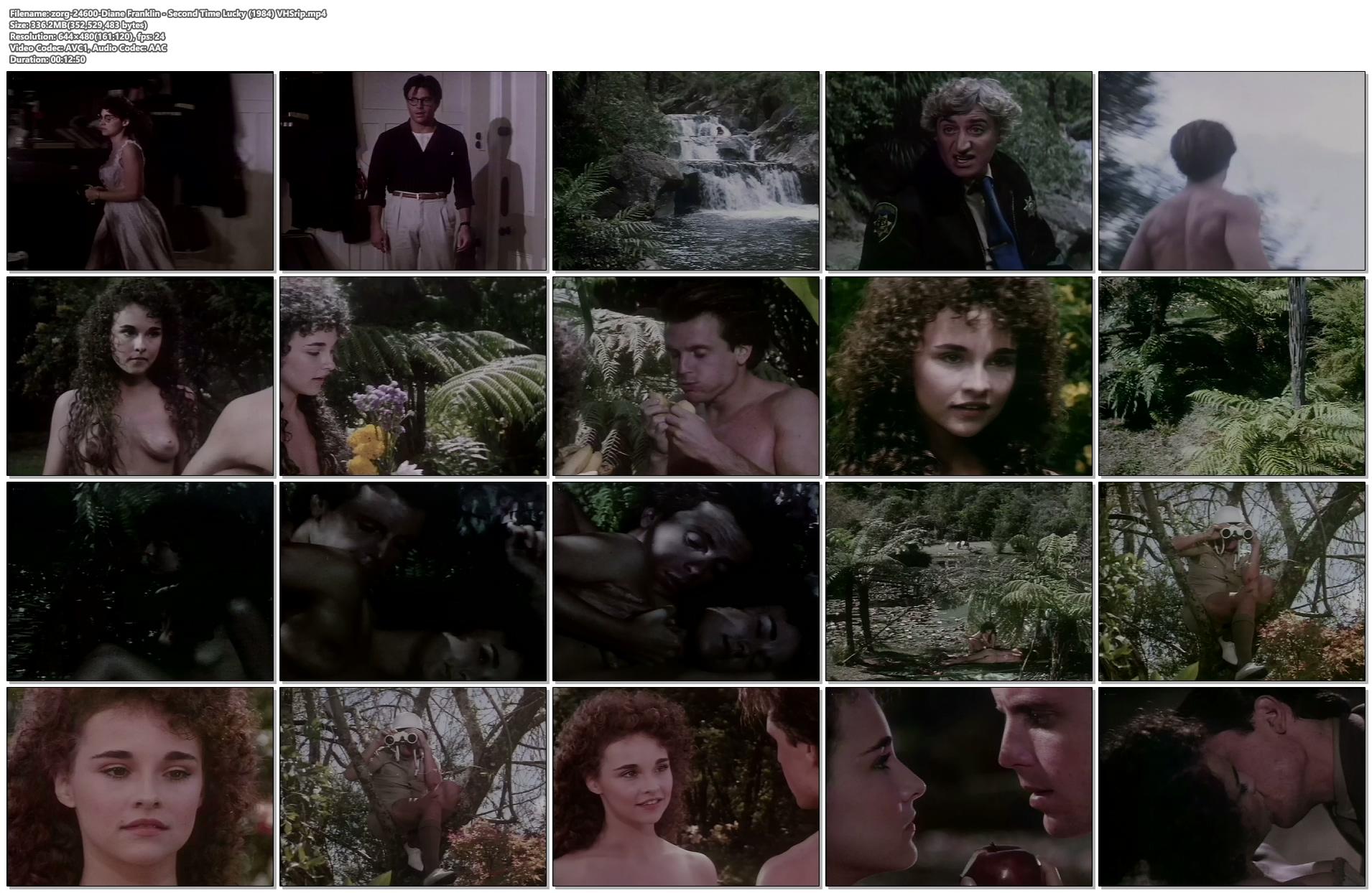 zorg 24600 Diane Franklin Second Time Lucky 1984 VHSrip mp4