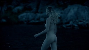 Gaia Weiss nude butt and topless - Vikings (2014) s02  HD 1080p