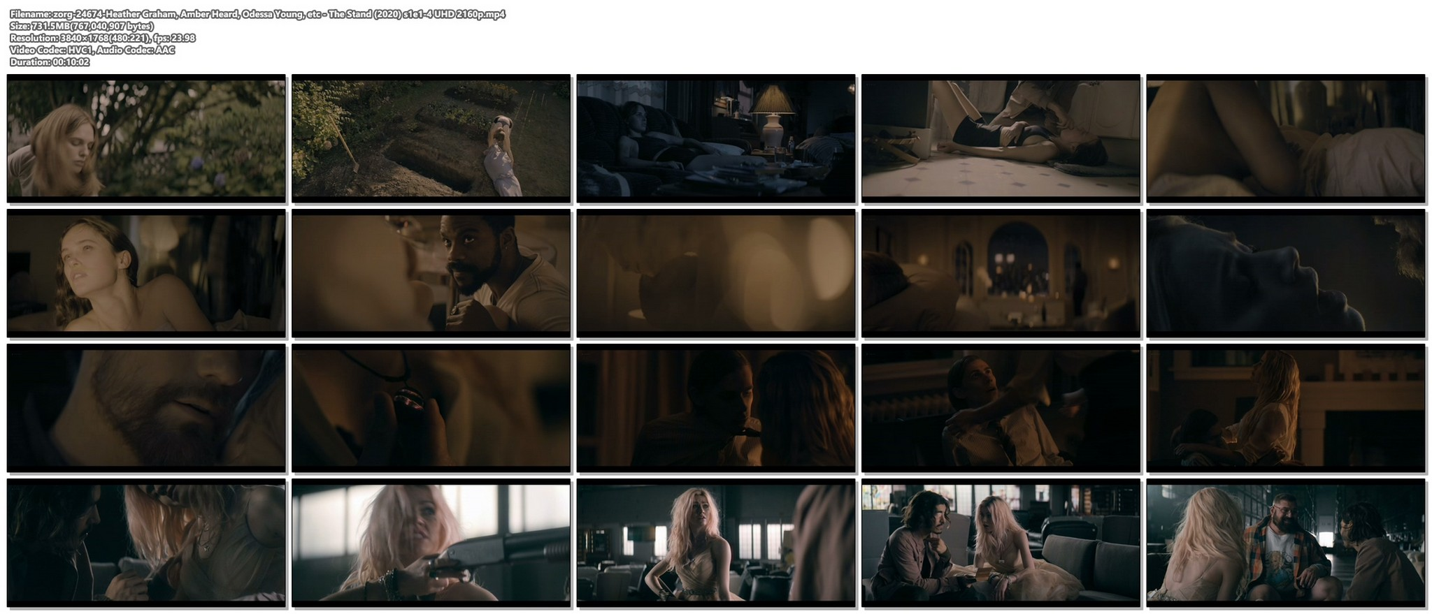 Heather Graham sex Amber Heard Odessa Young sexy The Stand 2020 s1e1 4 UHD 2160p 019
