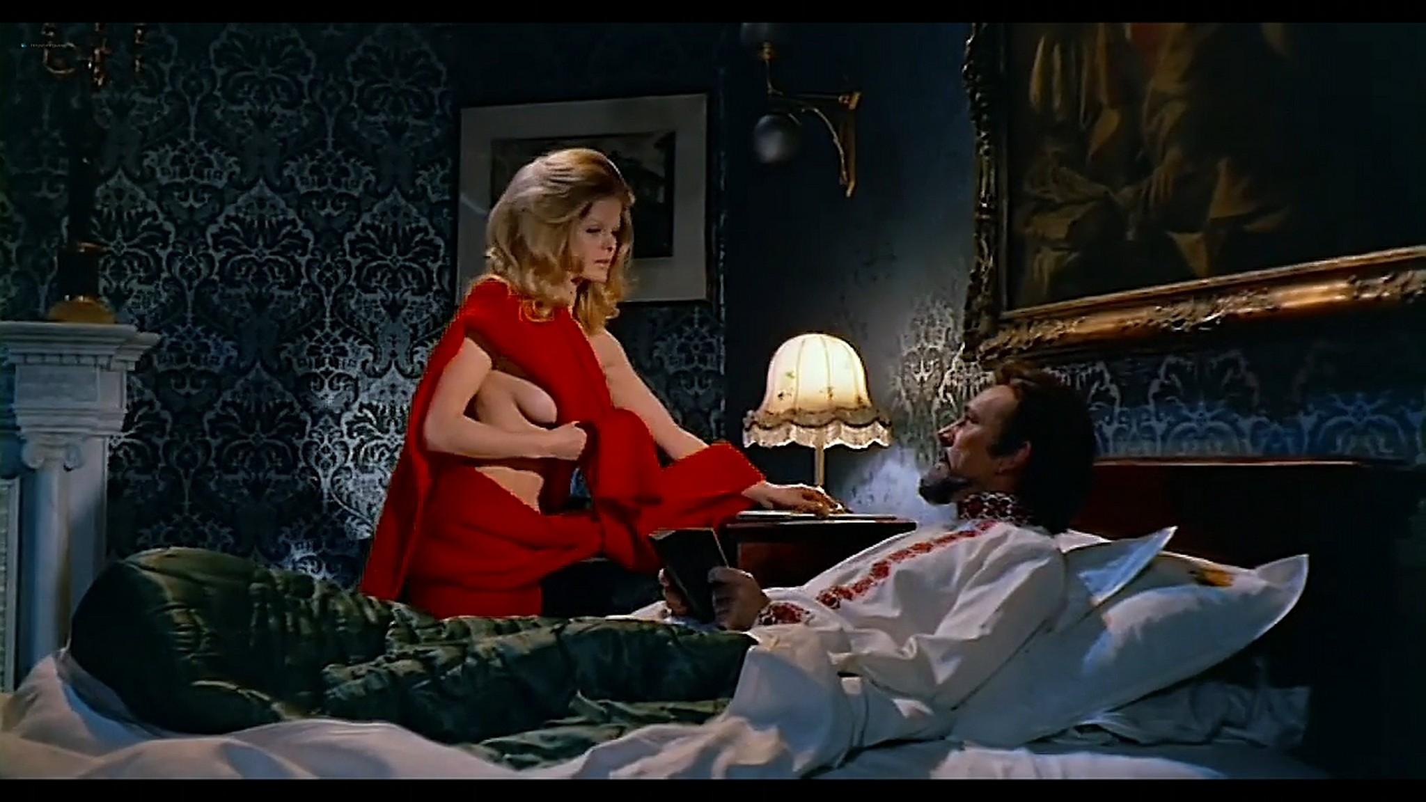 Joey Heatherton nude topless Sybil Danning Karin Schubert and others nude Bluebeard 1972 720p 13