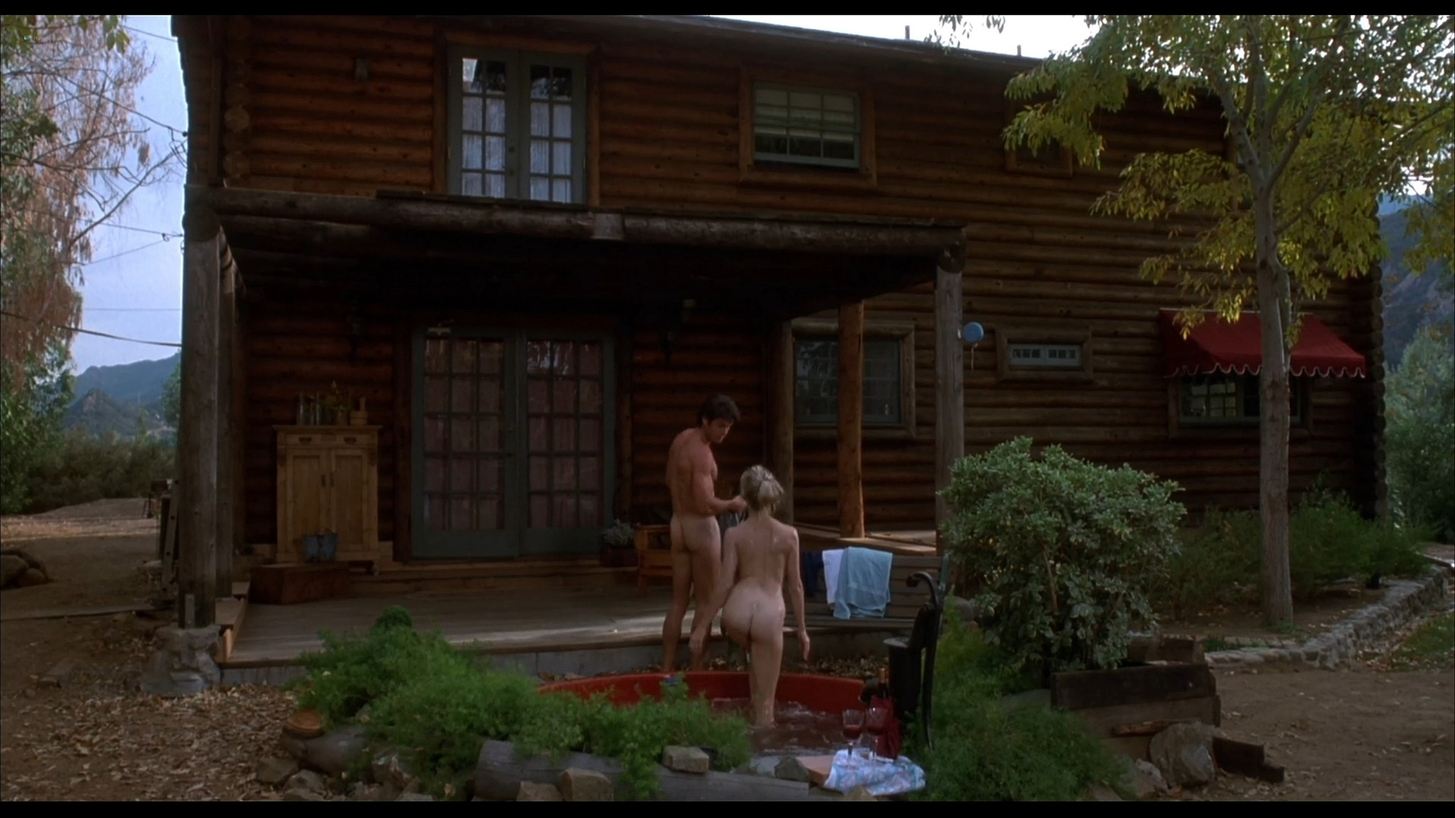 Lysette Anthony nude sex and Ashlie Rhey topless Save Me 1993 HD 1080p Web 13