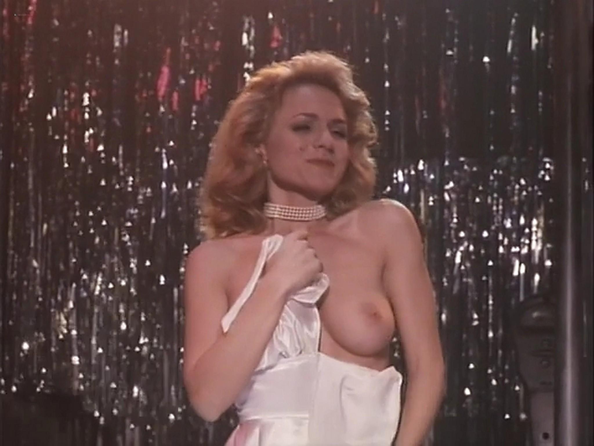 Barbara Alyn Woods nude Catya Sassoon Jill Pierce nude too as strippers Dance with Death 1991 16