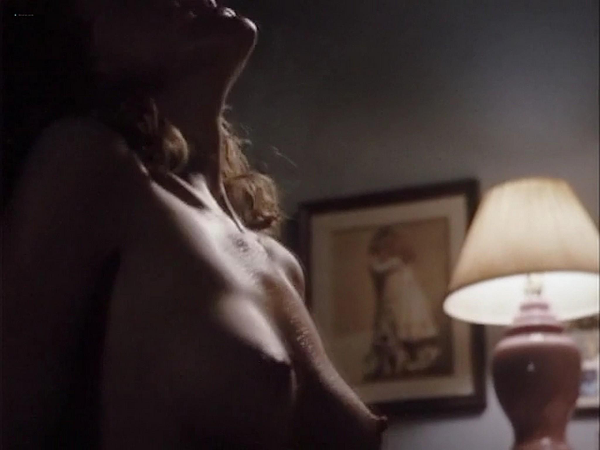 Barbara Alyn Woods nude Catya Sassoon Jill Pierce nude too as strippers Dance with Death 1991 19