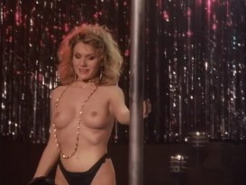 Barbara Alyn Woods nude Catya Sassoon, Jill Pierce nude too as strippers -  Dance with Death (1991)