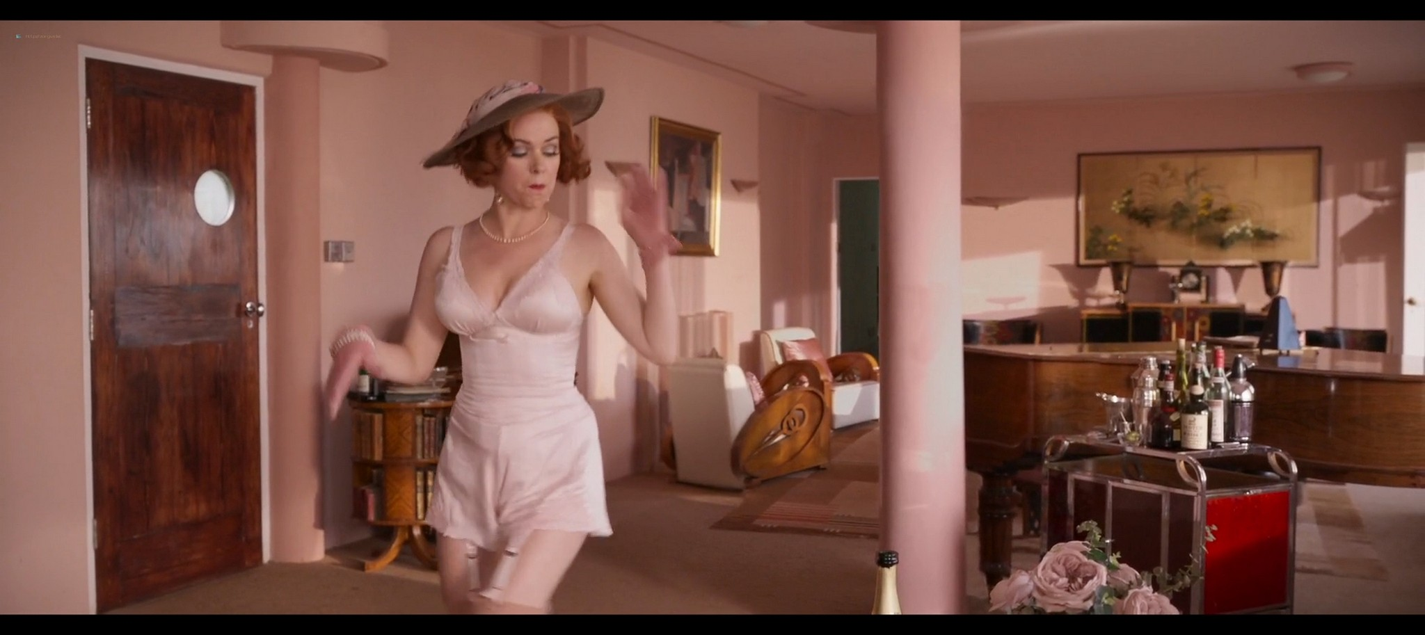 Isla Fisher hot and sexy Blithe Spirit 2020 1080p Web 10