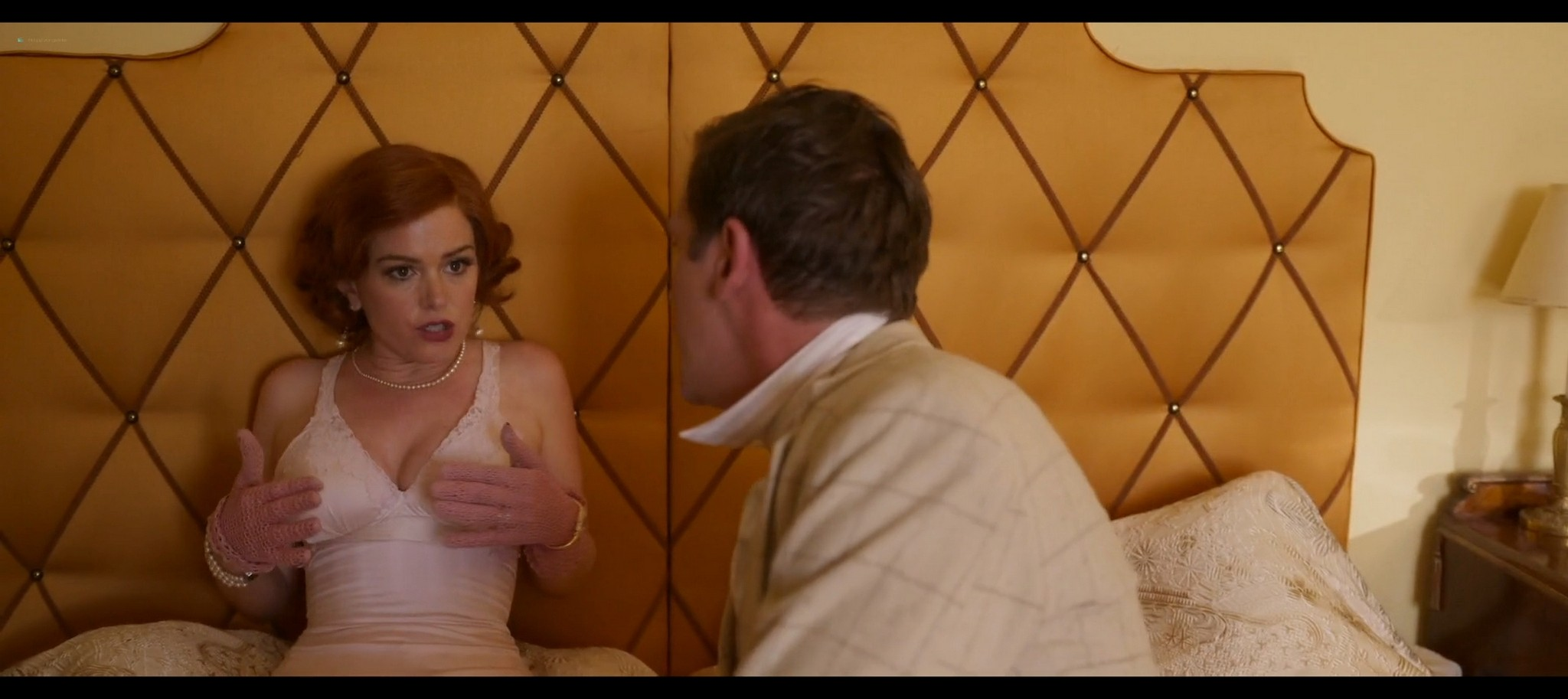 Isla Fisher hot and sexy Blithe Spirit 2020 1080p Web 18
