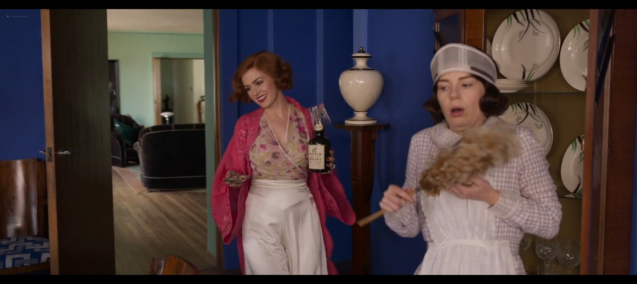 Isla Fisher hot and sexy Blithe Spirit 2020 1080p Web 3